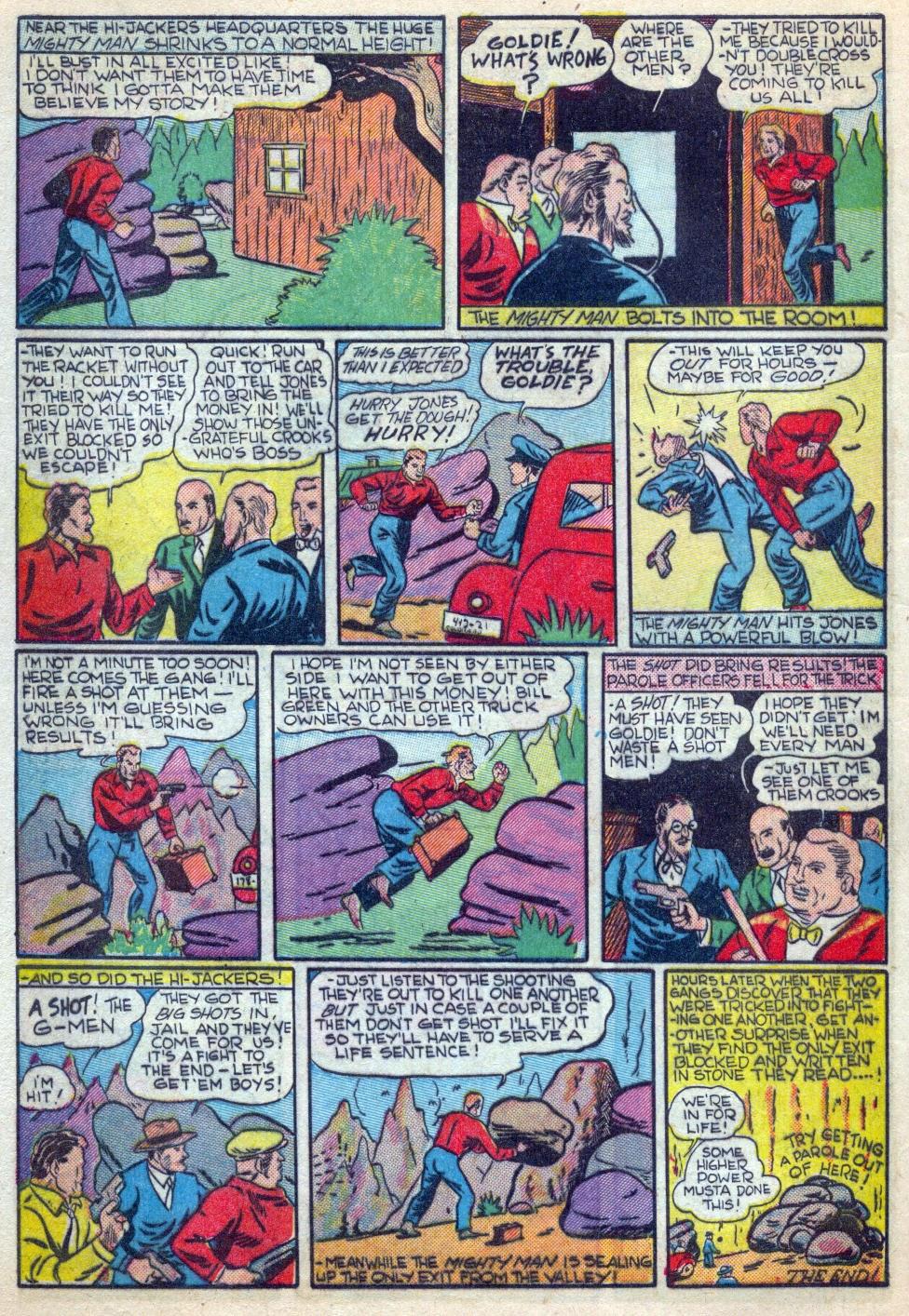 Read online Amazing Man Comics comic -  Issue #15 - 51