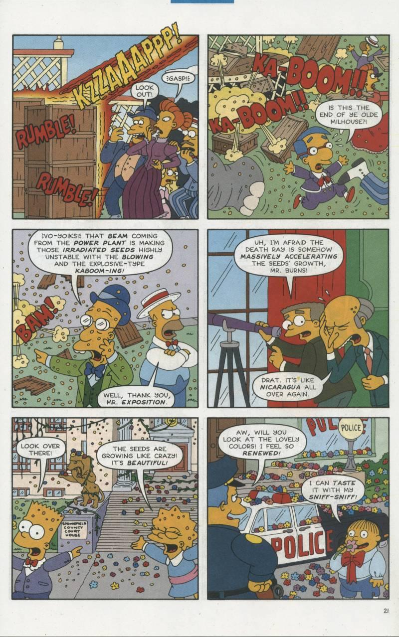 Read online Simpsons Comics comic -  Issue #67 - 22