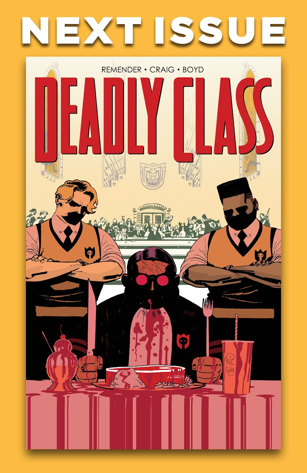 Read online Deadly Class comic -  Issue #38 - 30