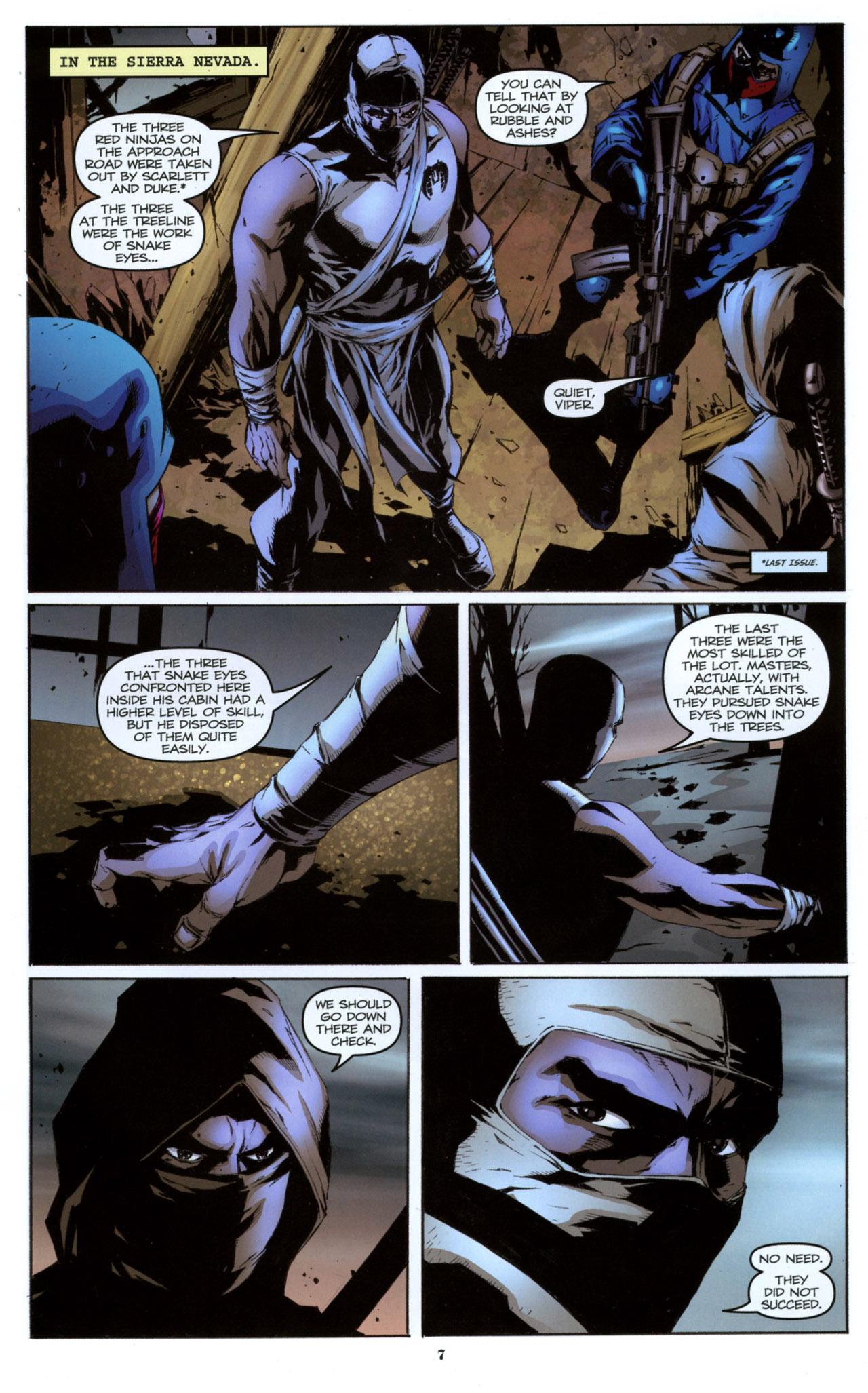 G.I. Joe: A Real American Hero 157 Page 8