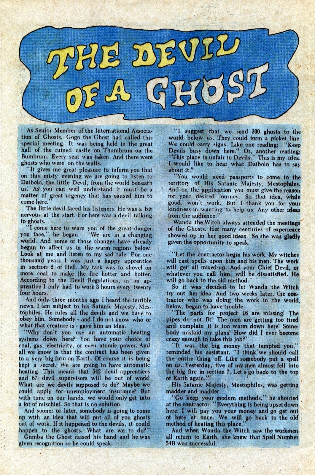 Read online Timmy the Timid Ghost comic -  Issue #20 - 19