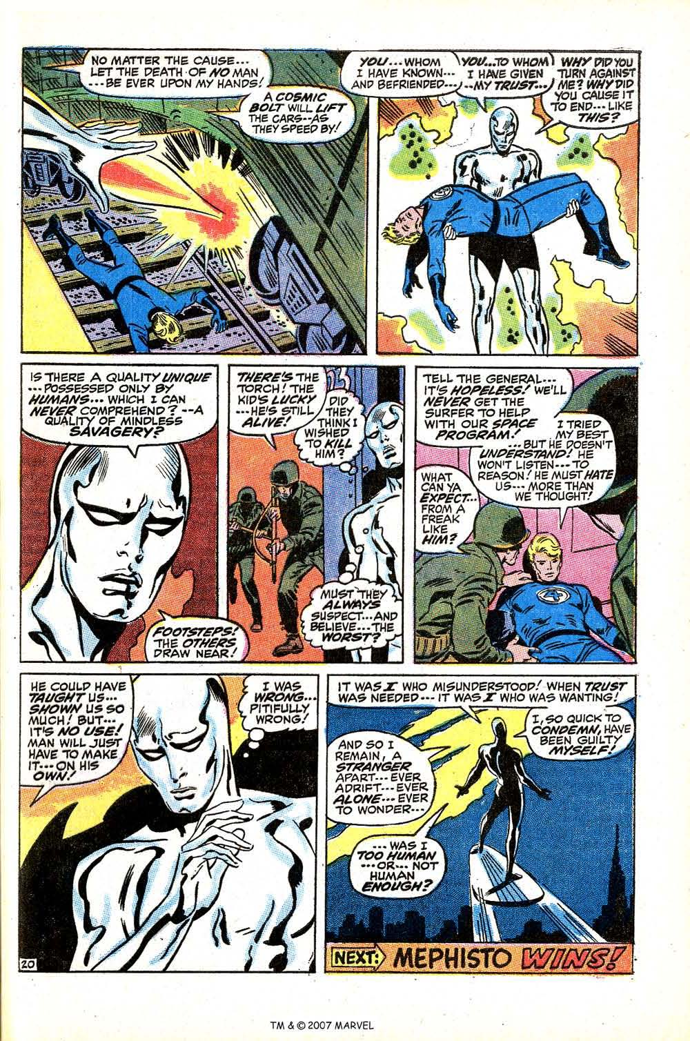 Read online Silver Surfer (1968) comic -  Issue #15 - 29