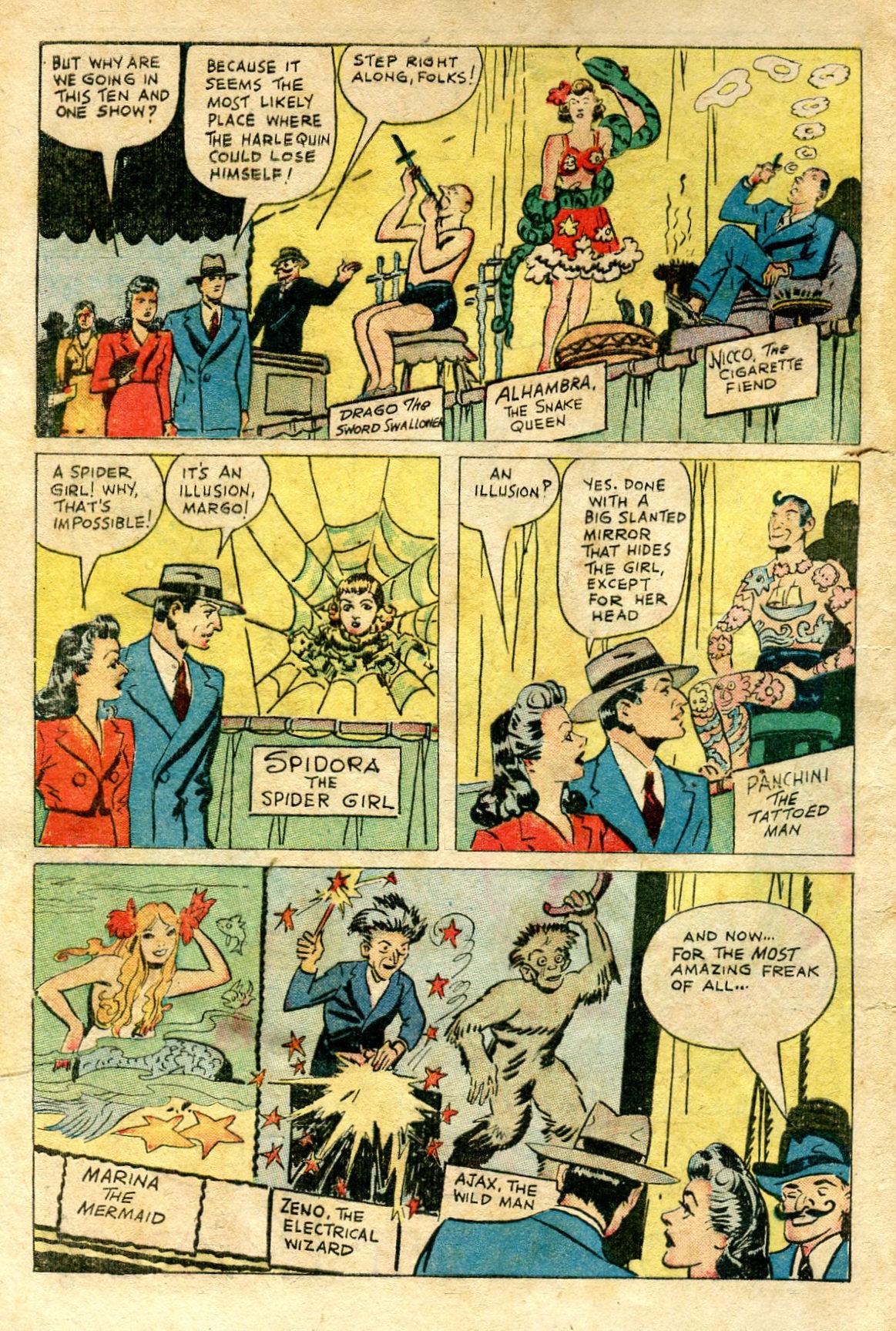 Read online Shadow Comics comic -  Issue #65 - 4