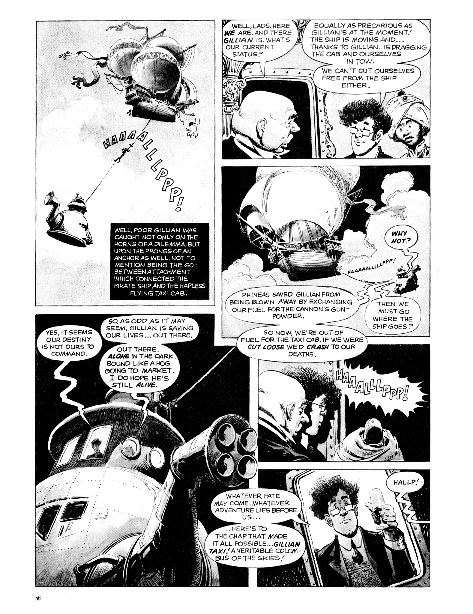 Read online Eerie Archives comic -  Issue # TPB 16 - 57