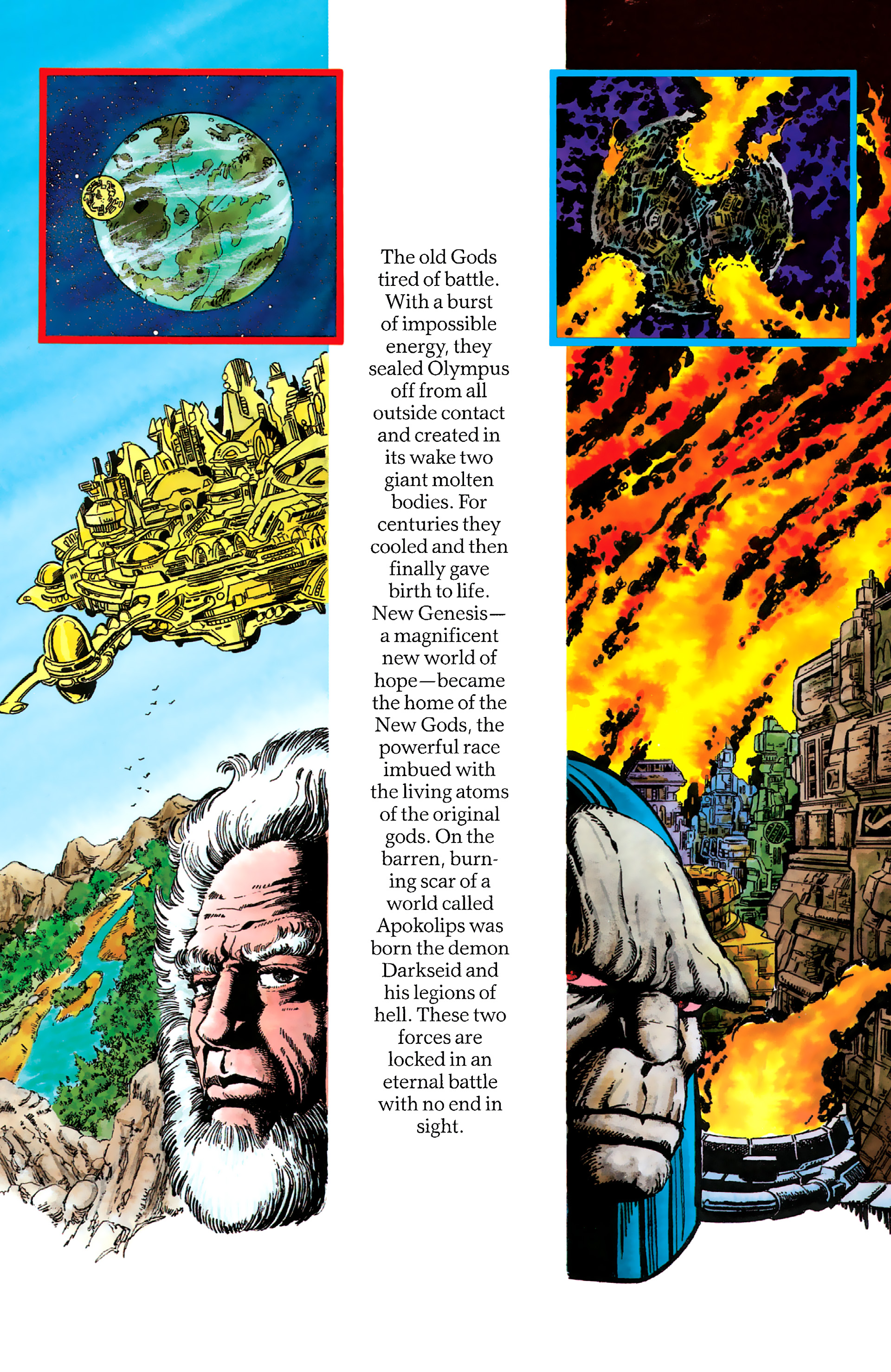 Read online History of the DC Universe comic -  Issue #1 - 17