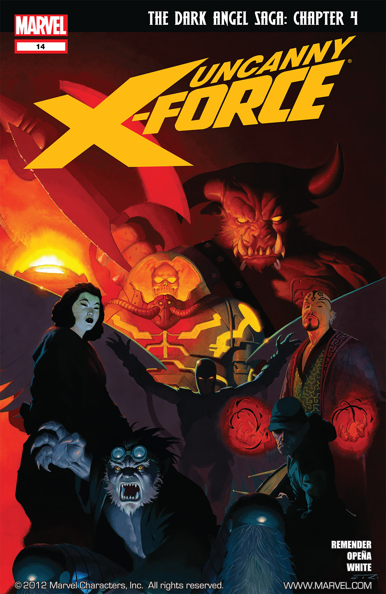 Read online Uncanny X-Force (2010) comic -  Issue #14 - 1
