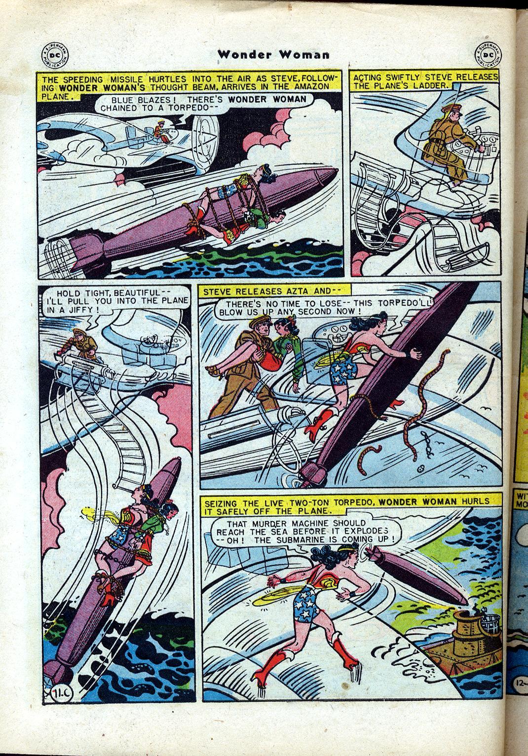 Read online Wonder Woman (1942) comic -  Issue #24 - 48