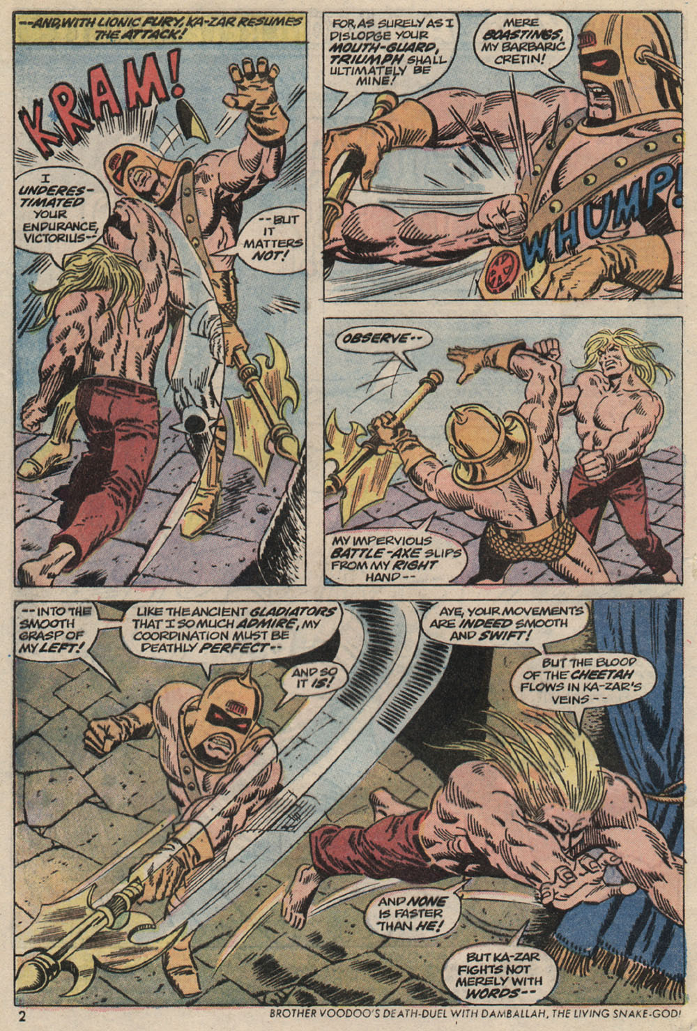 Read online Astonishing Tales (1970) comic -  Issue #20 - 3