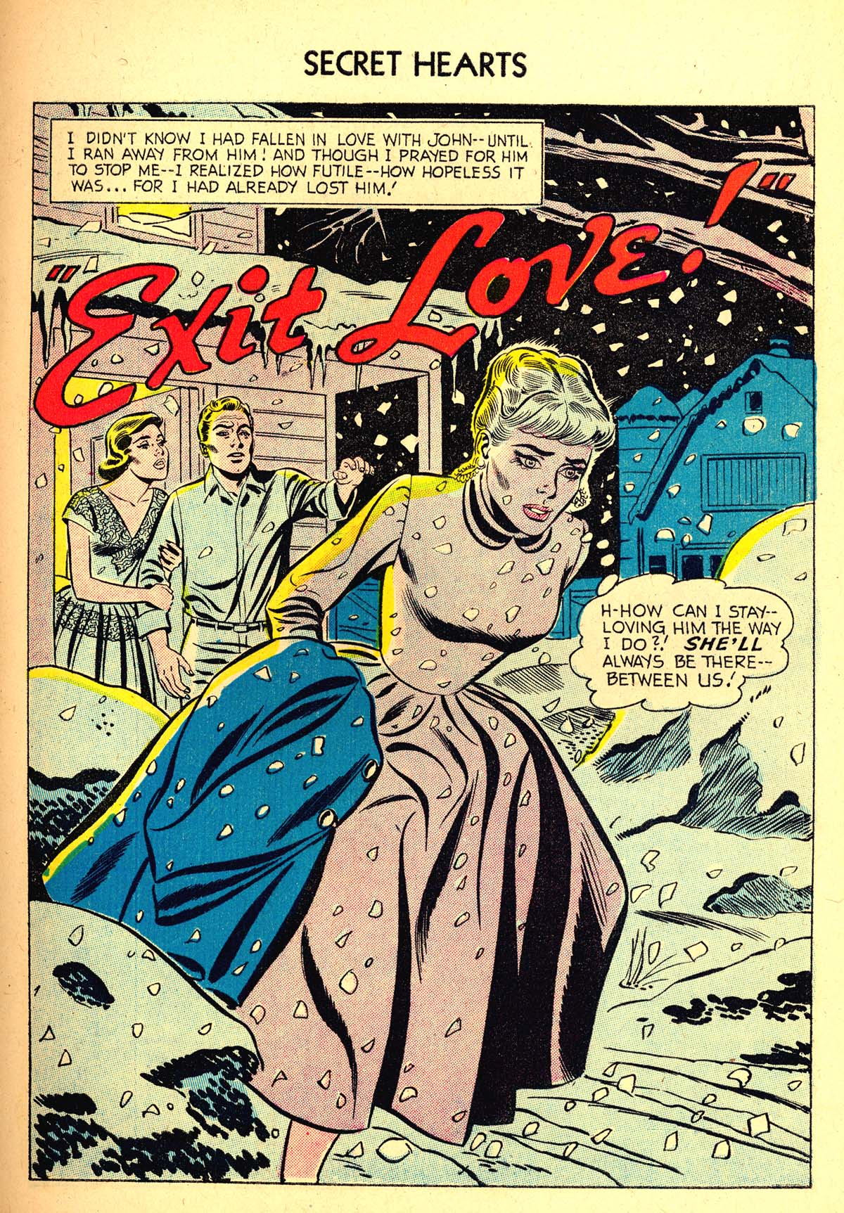 Read online Secret Hearts comic -  Issue #37 - 27
