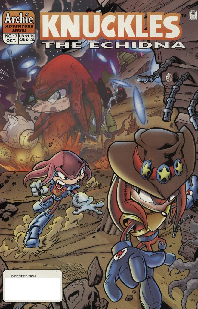 Knuckles the Echidna issue 17 - Page 1