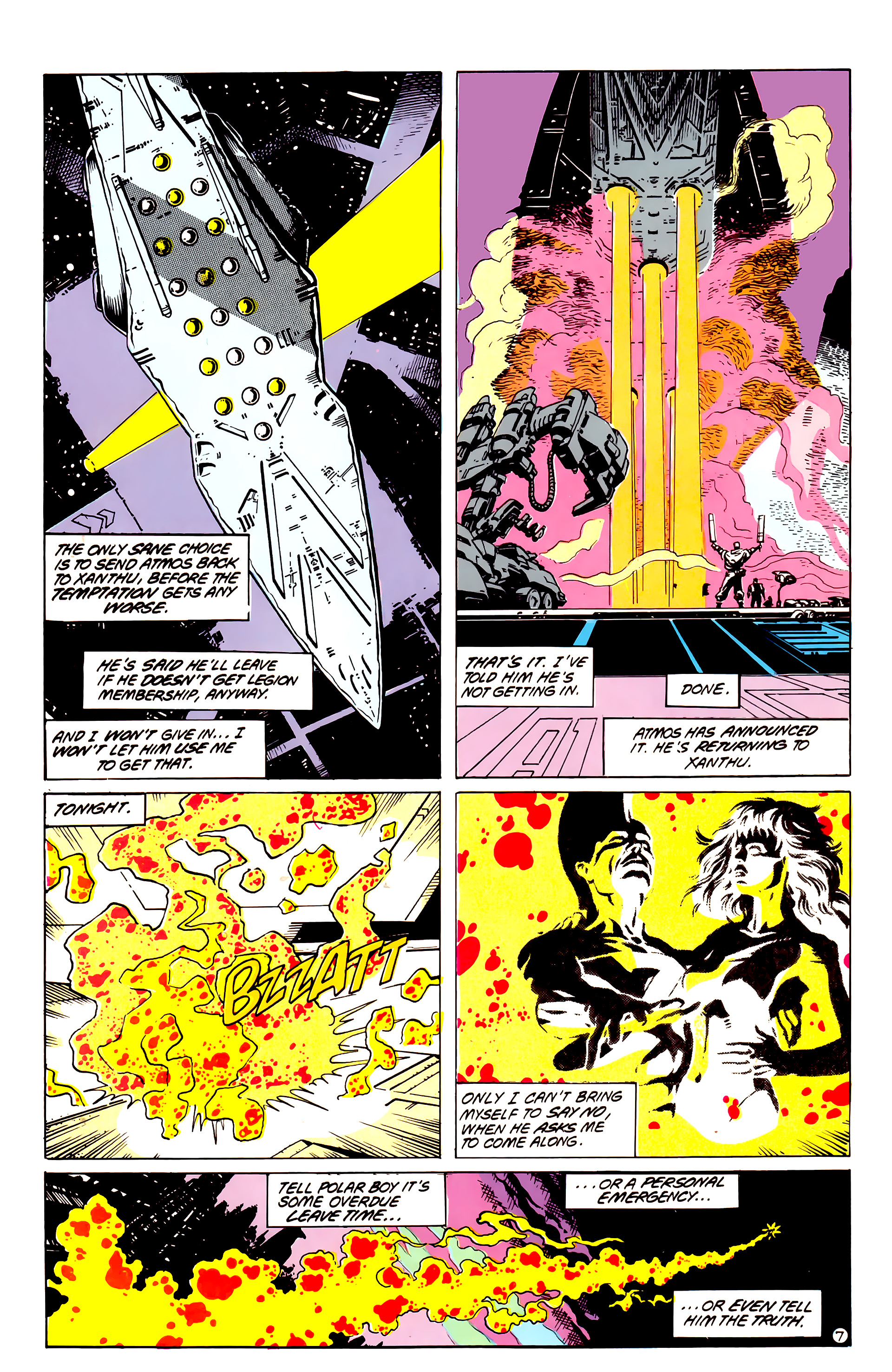 Legion of Super-Heroes (1984) _Annual_4 Page 42