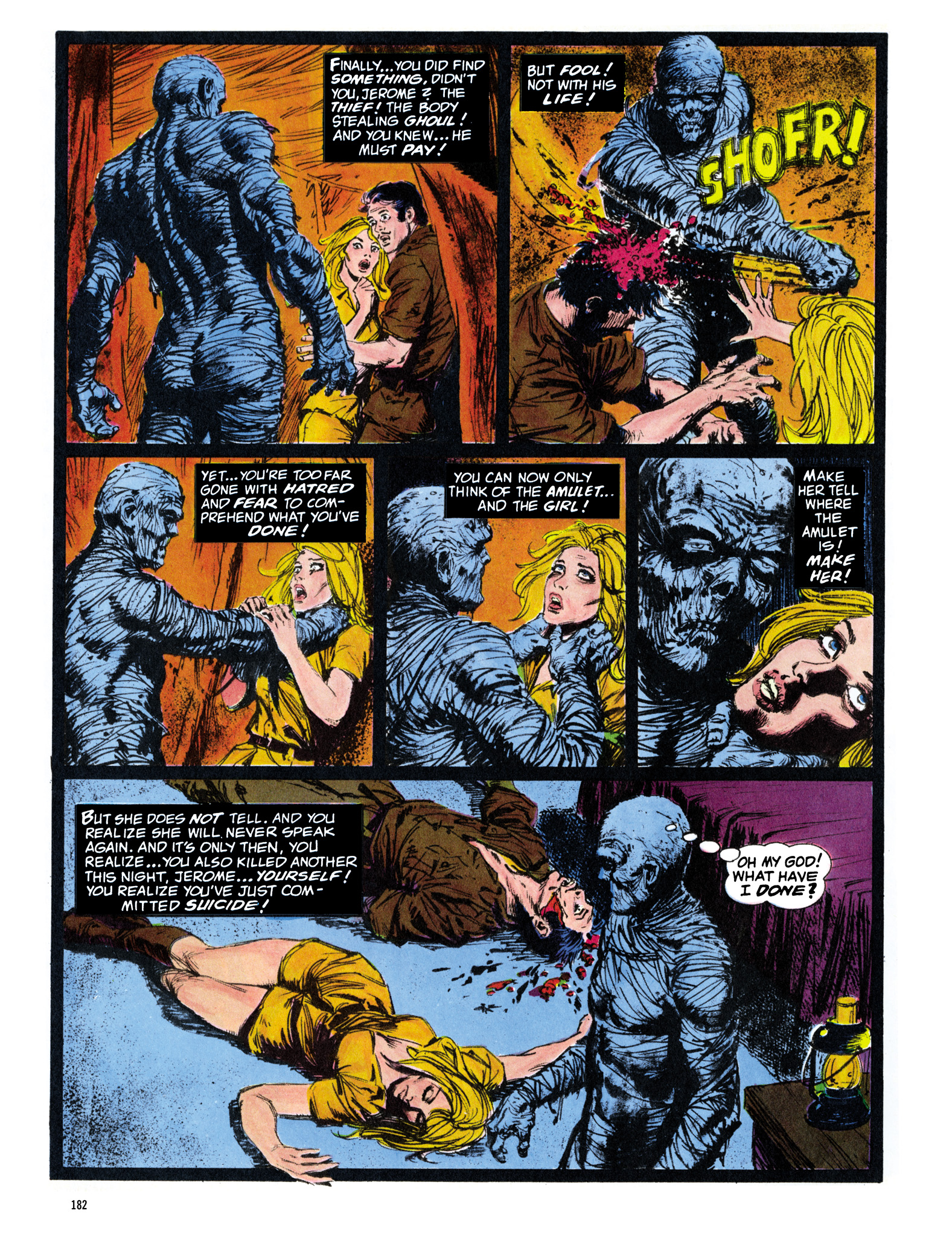 Read online Eerie Archives comic -  Issue # TPB 16 - 183