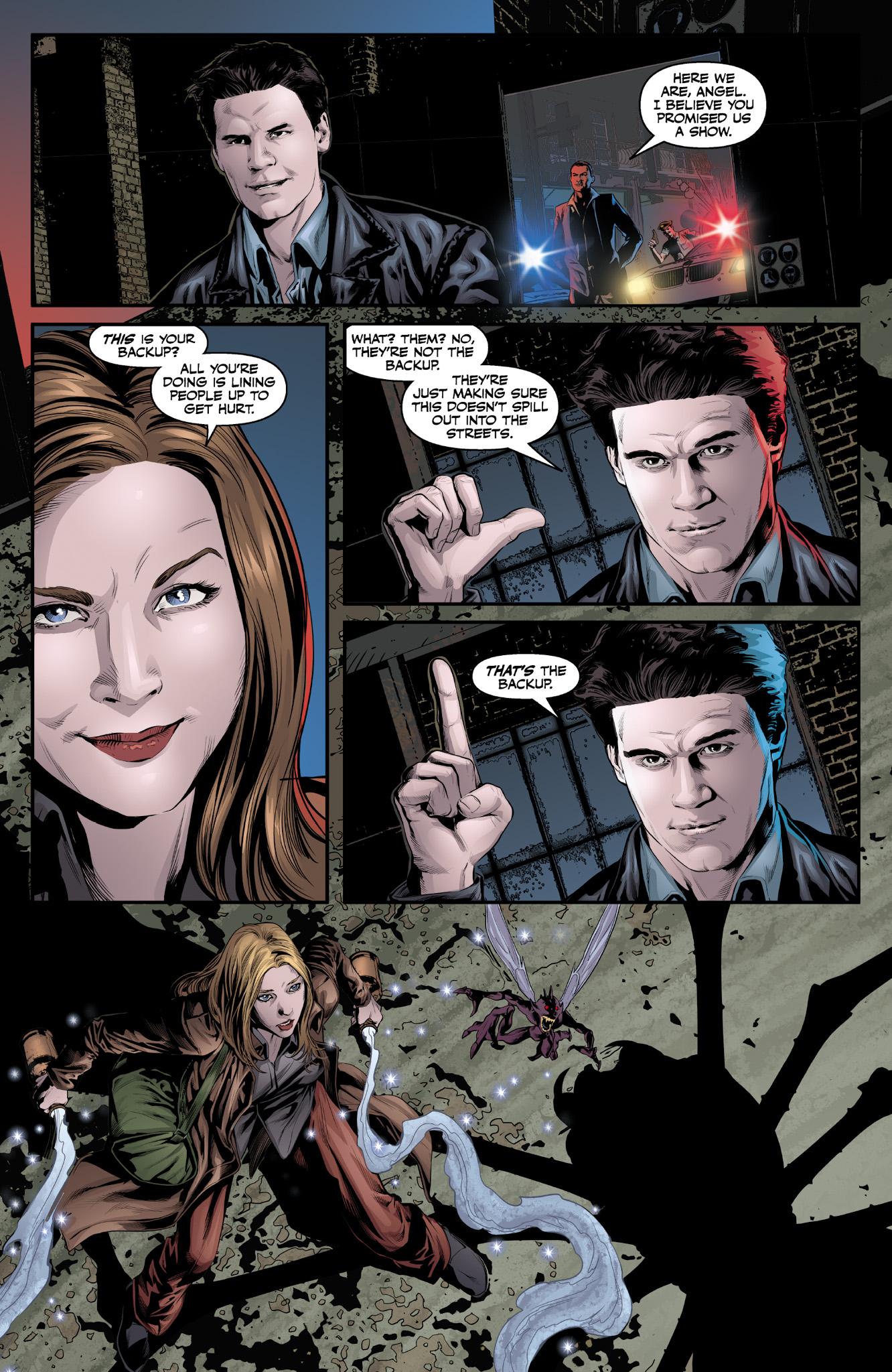 Read online Angel & Faith Season 10 comic -  Issue #9 - 19