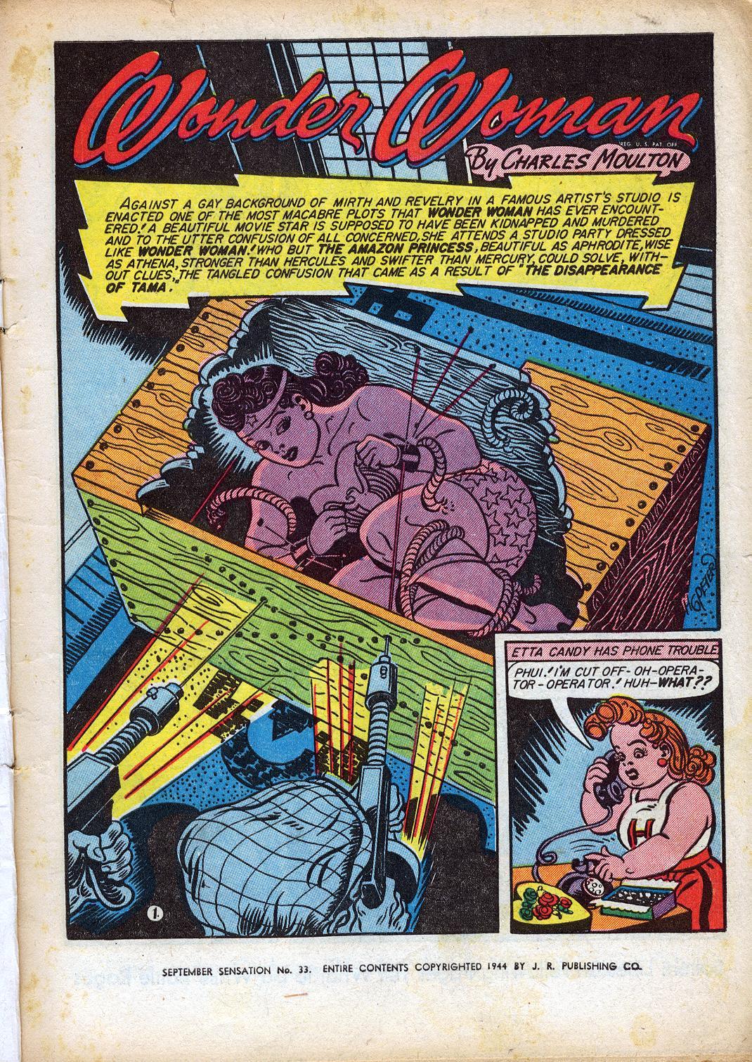 Read online Sensation (Mystery) Comics comic -  Issue #33 - 3