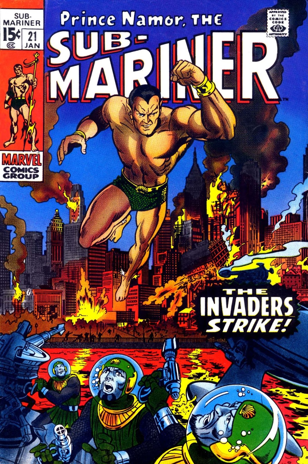 The Sub-Mariner 21 Page 1