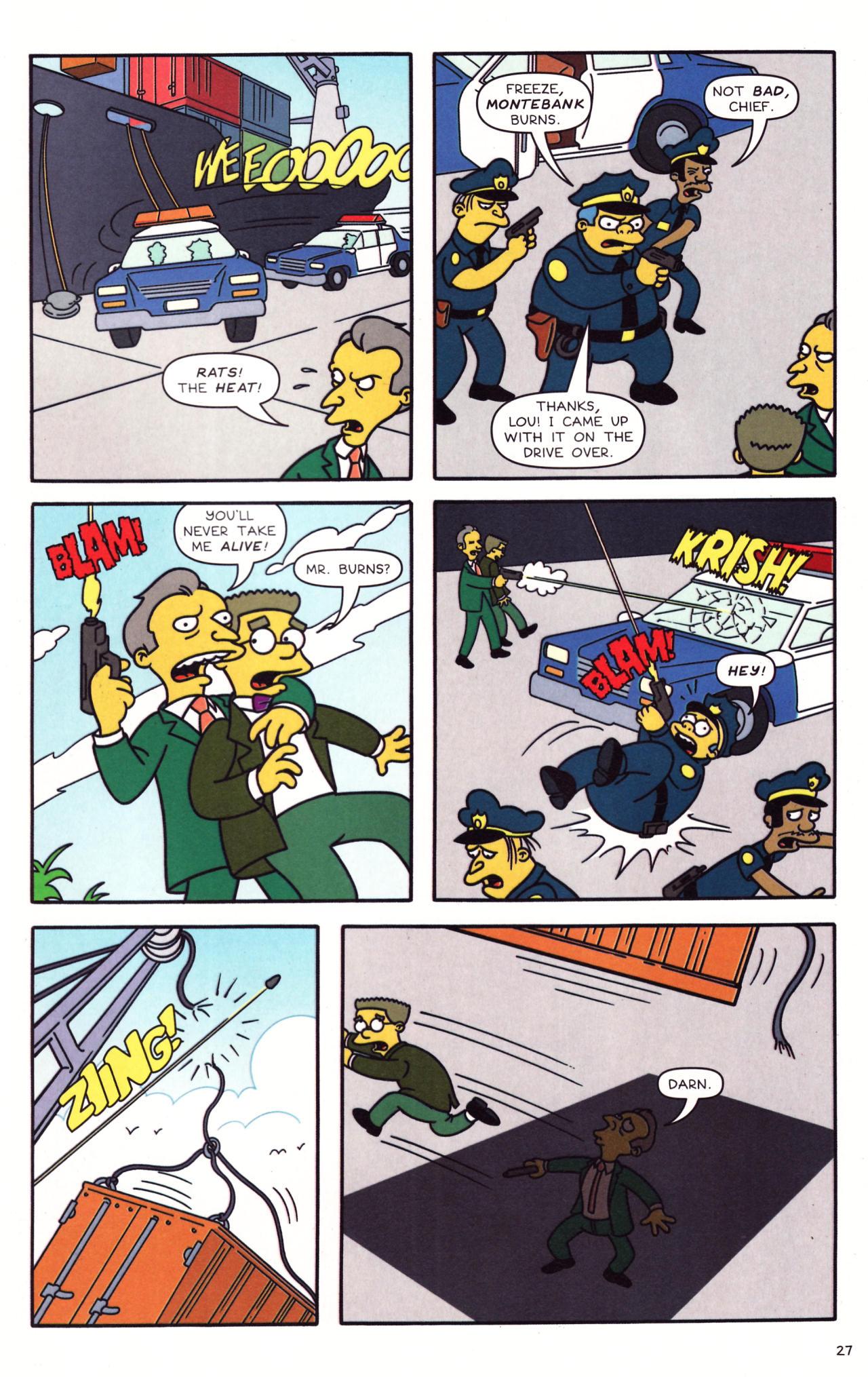 Read online Simpsons Comics comic -  Issue #133 - 22