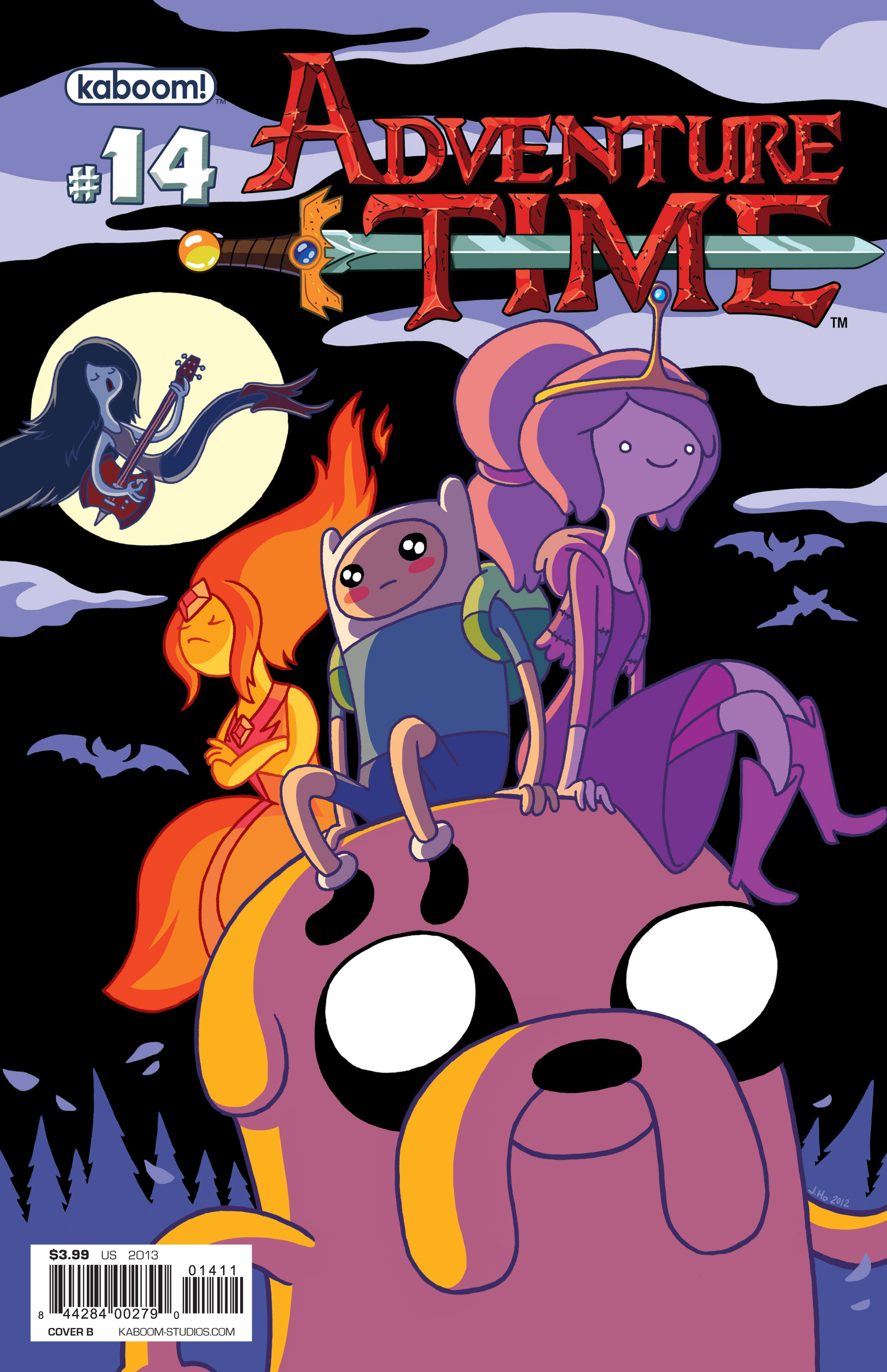 Read online Adventure Time comic -  Issue #14 - 2