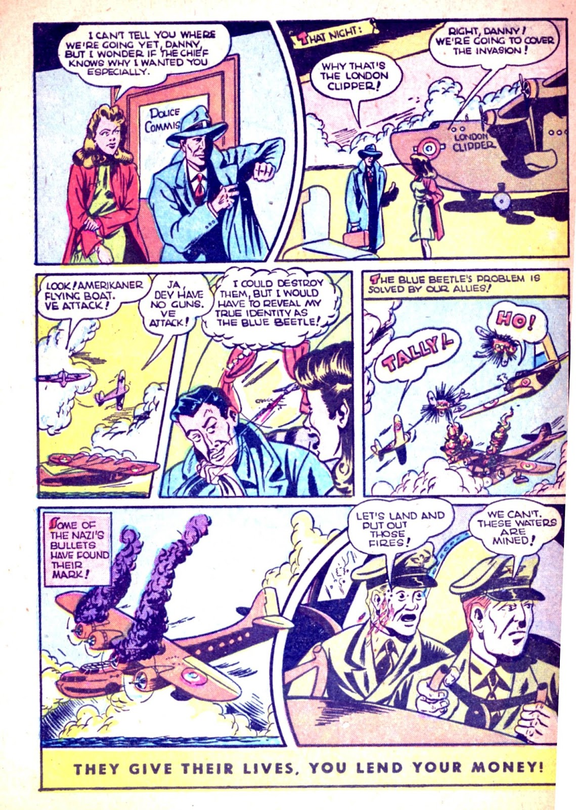 The Blue Beetle issue 31 - Page 40