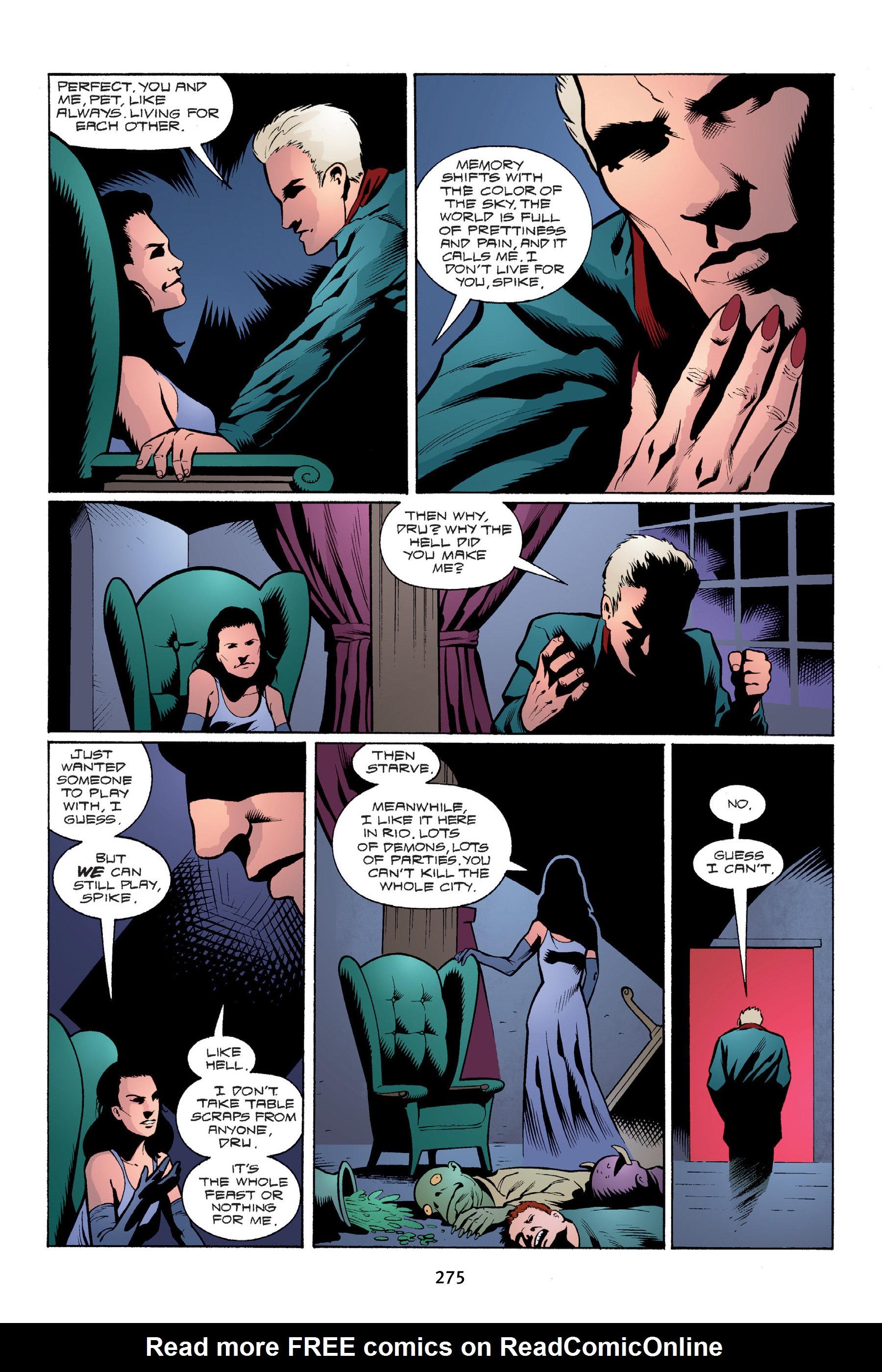Read online Buffy the Vampire Slayer: Omnibus comic -  Issue # TPB 4 - 273