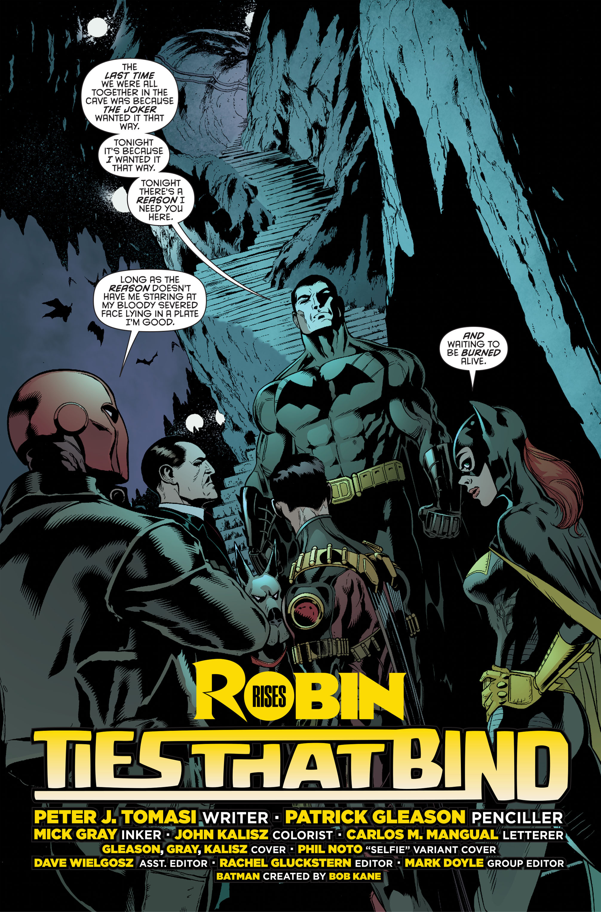 Read online Batman and Robin (2011) comic -  Issue #34 - 2