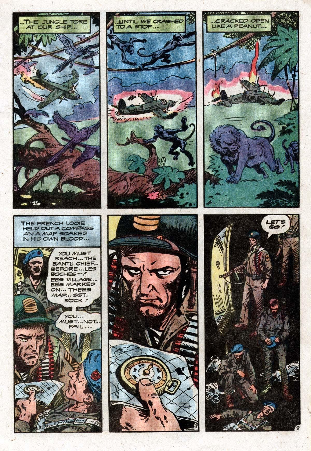 Read online Sgt. Rock comic -  Issue #319 - 12
