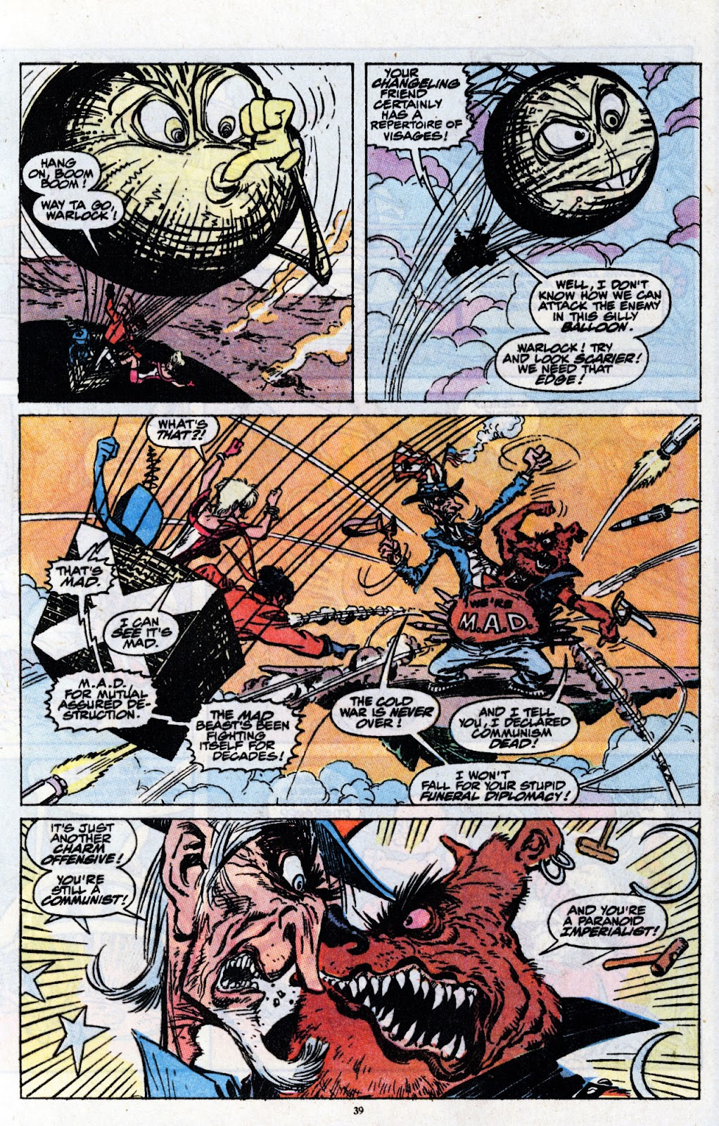 The New Mutants Summer Special issue Full - Page 41