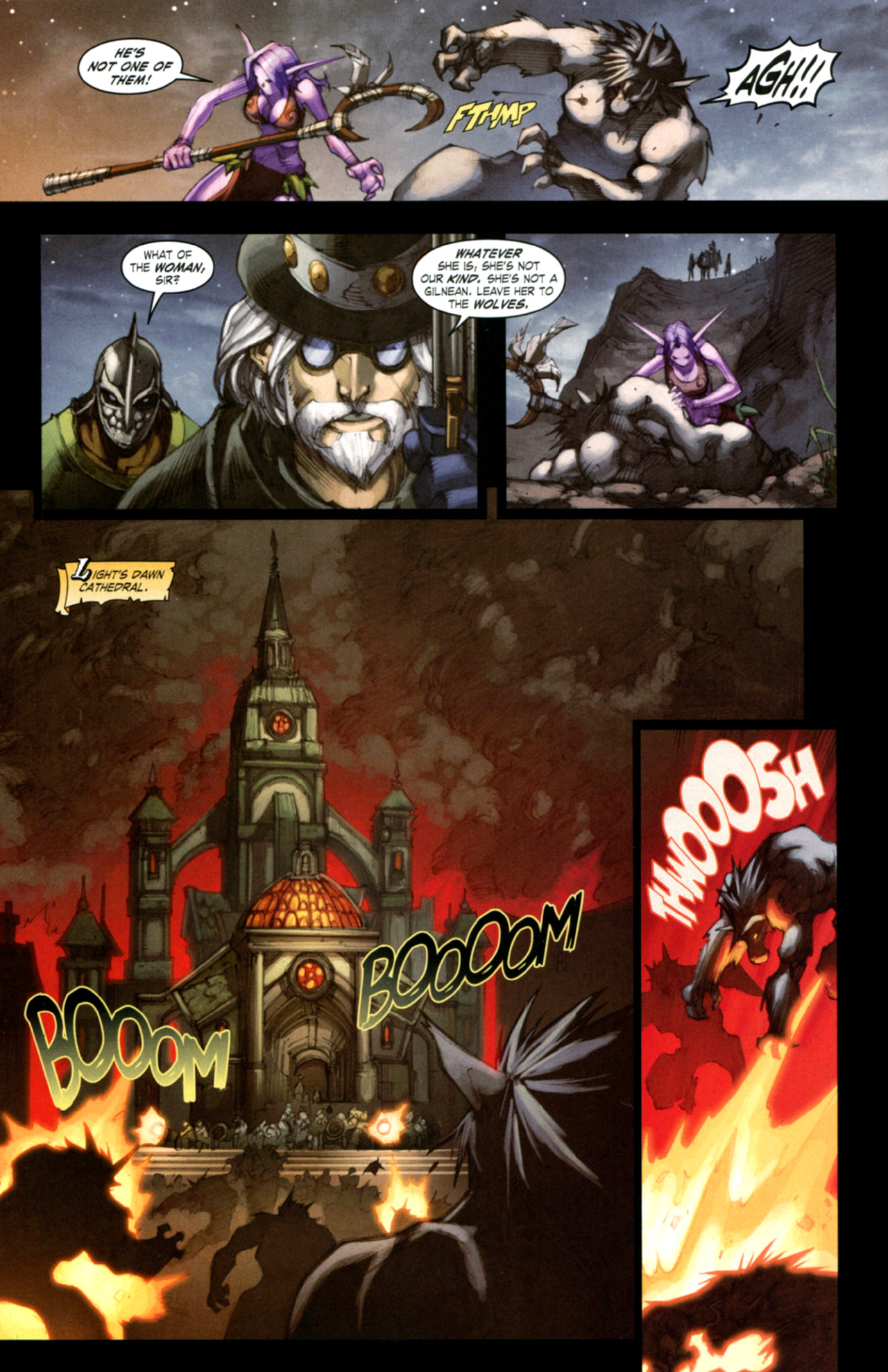 Read online World of Warcraft: Curse of the Worgen comic -  Issue #4 - 24