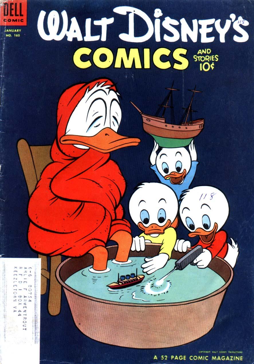 Walt Disneys Comics and Stories 160 Page 1