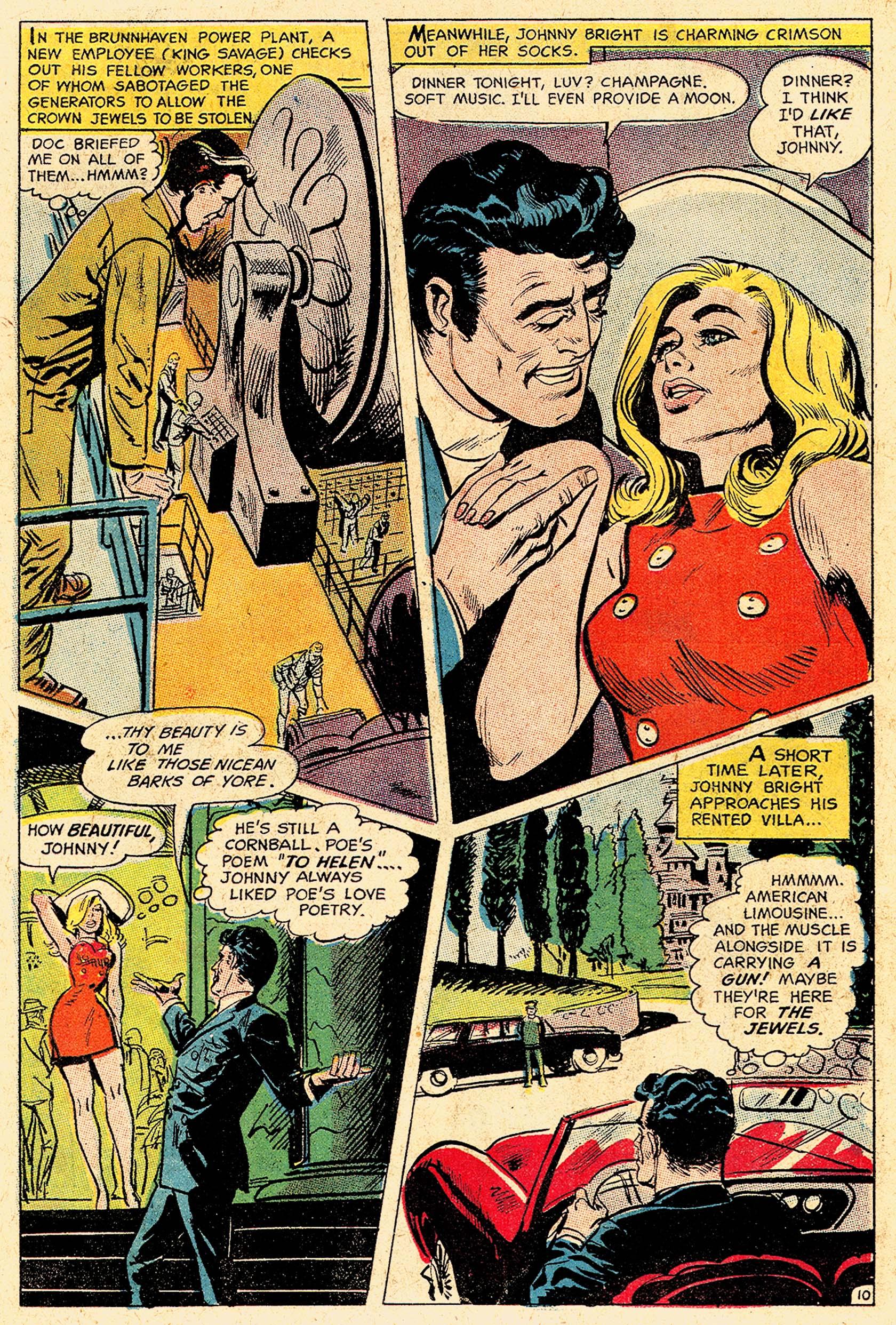 Read online Secret Six (1968) comic -  Issue #5 - 14