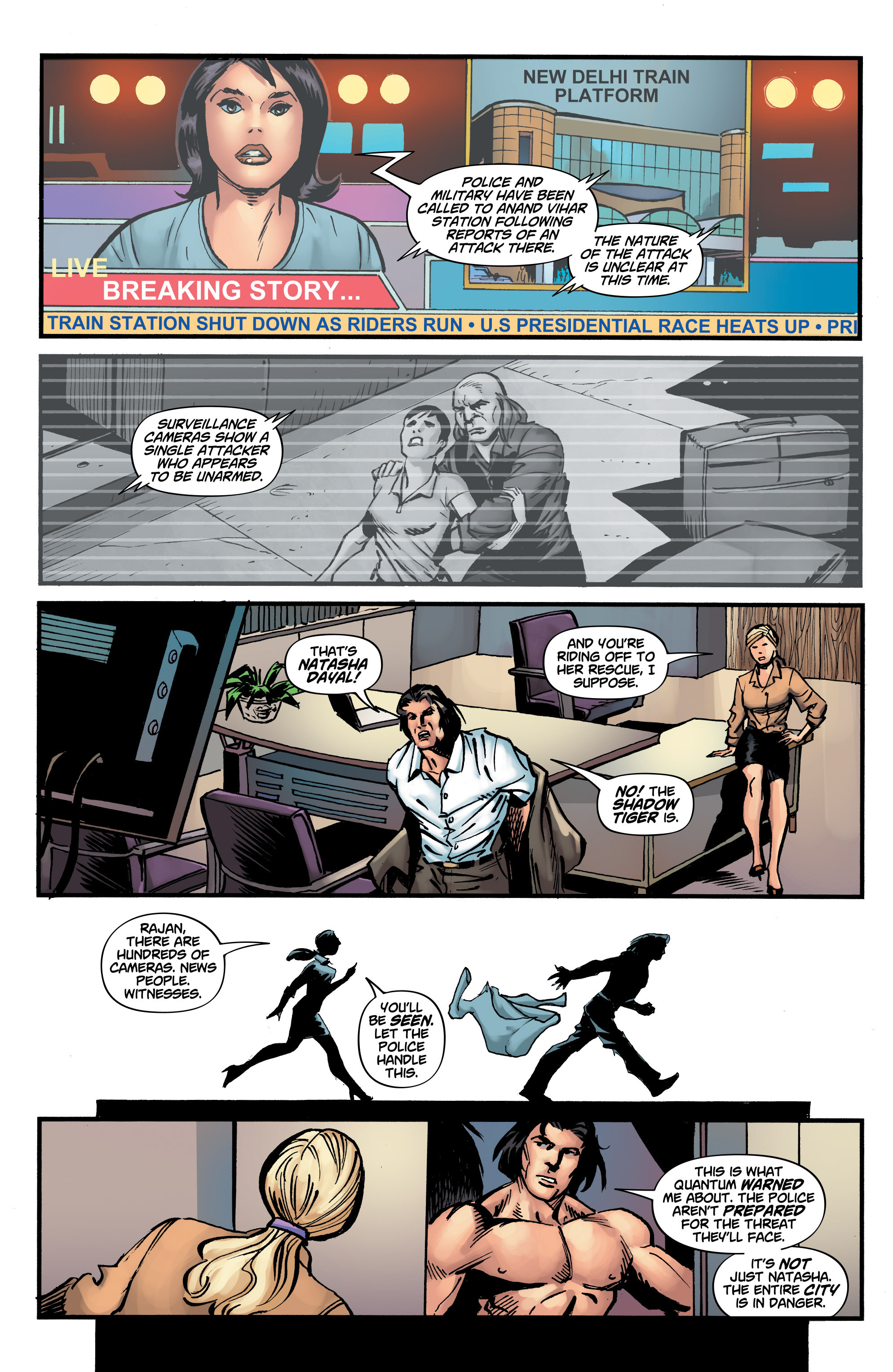 Read online Shadow Tiger comic -  Issue #3 - 16