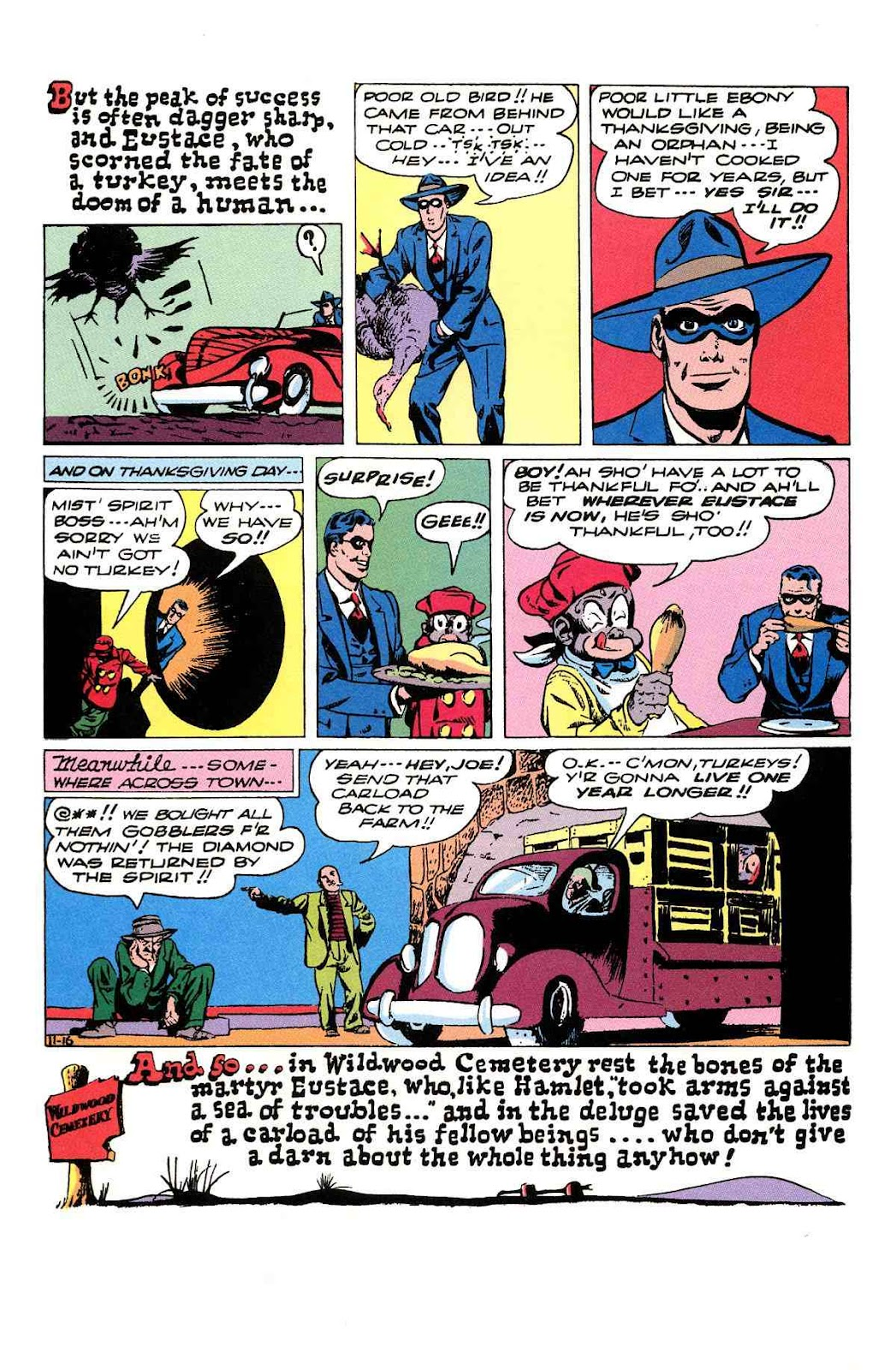 Read online Will Eisner's The Spirit Archives comic -  Issue # TPB 3 (Part 2) - 61