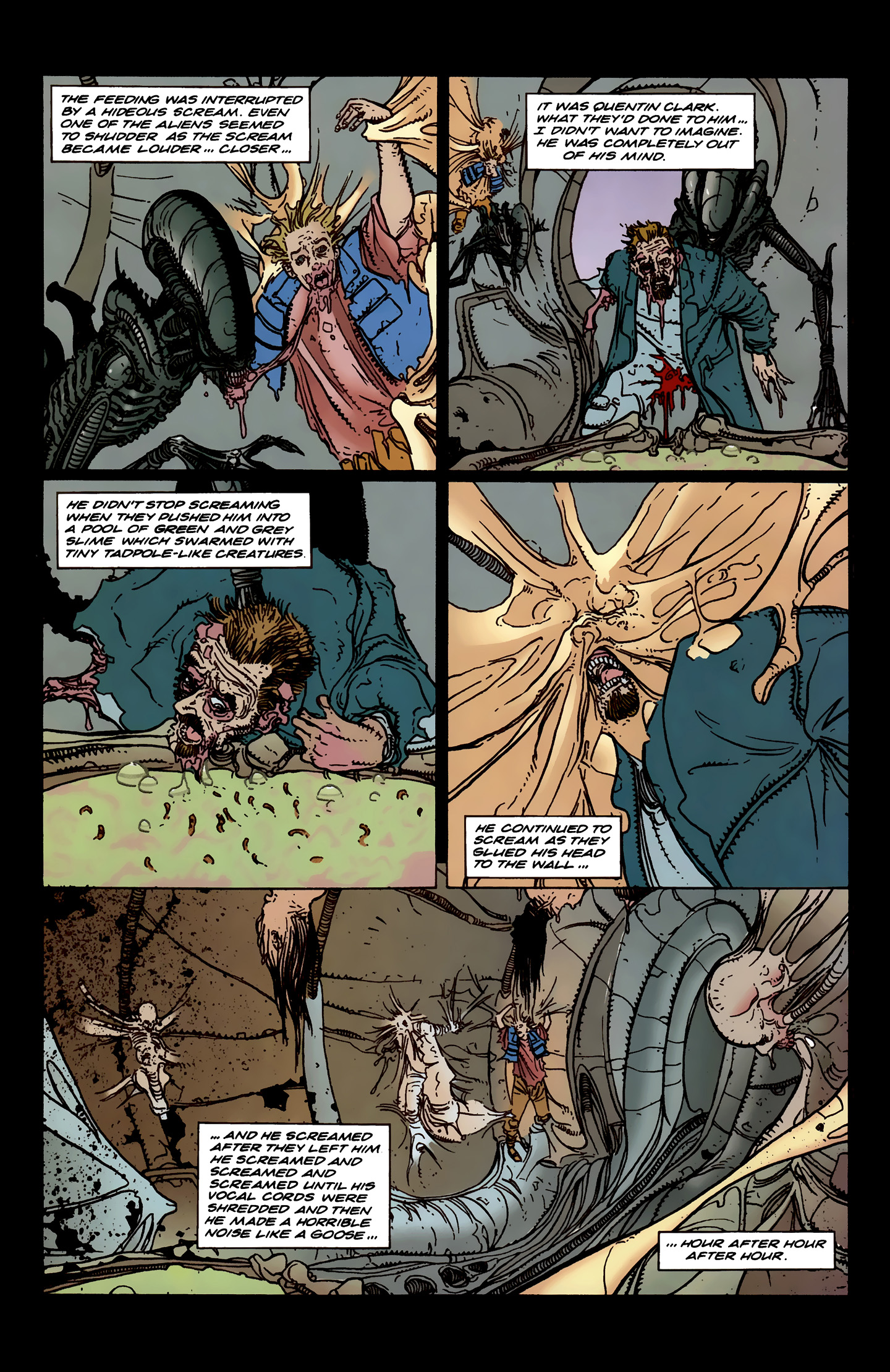 Read online Aliens: Labyrinth comic -  Issue #3 - 15