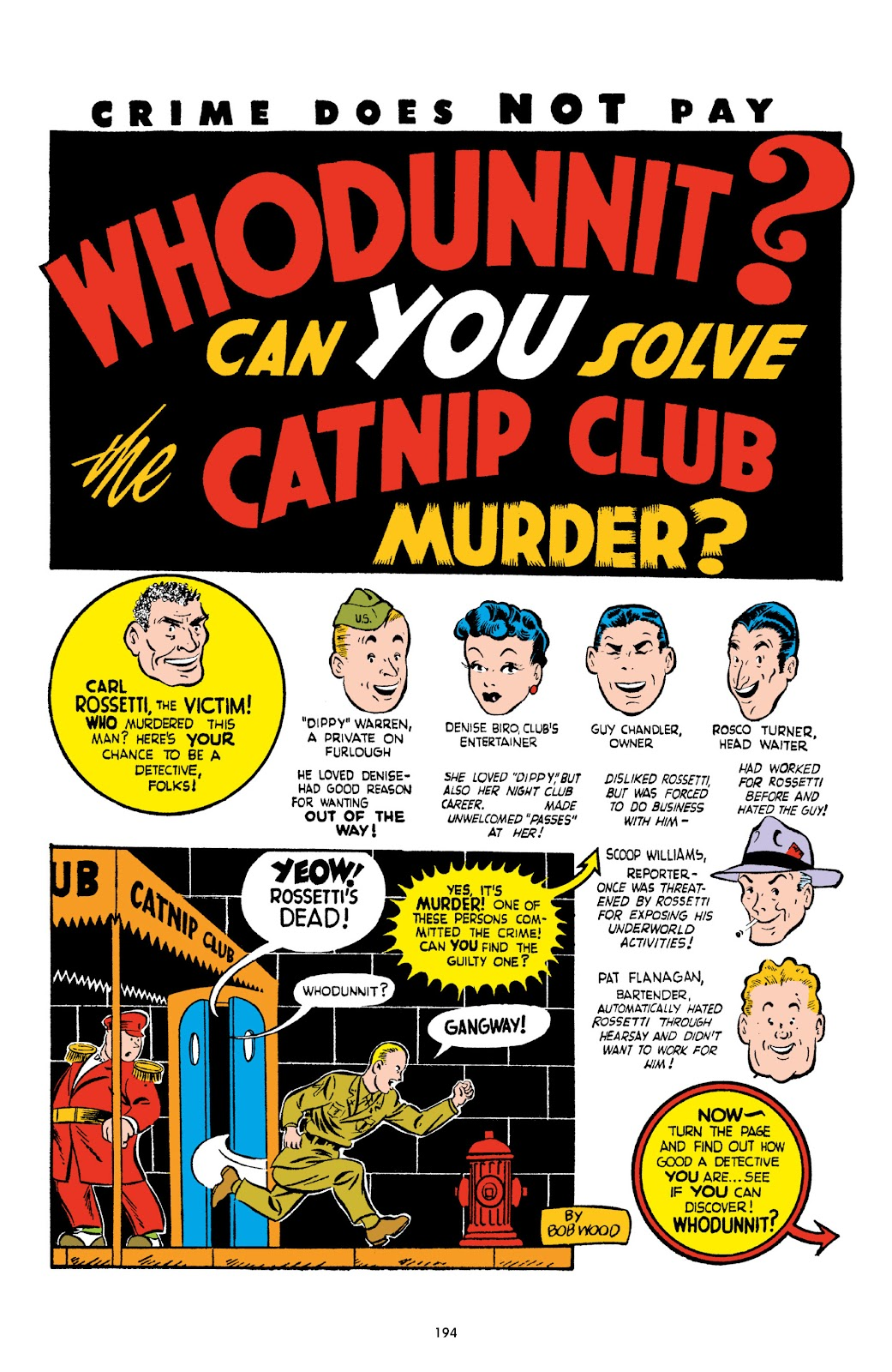 Read online Crime Does Not Pay Archives comic -  Issue # TPB 2 (Part 2) - 94