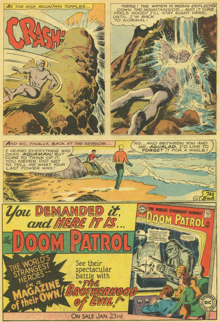 Read online Aquaman (1962) comic -  Issue #14 - 15