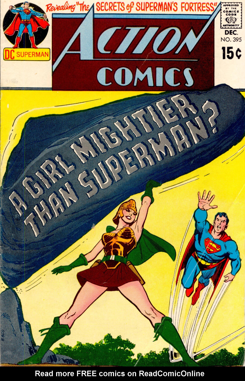 Action Comics (1938) 395 Page 0