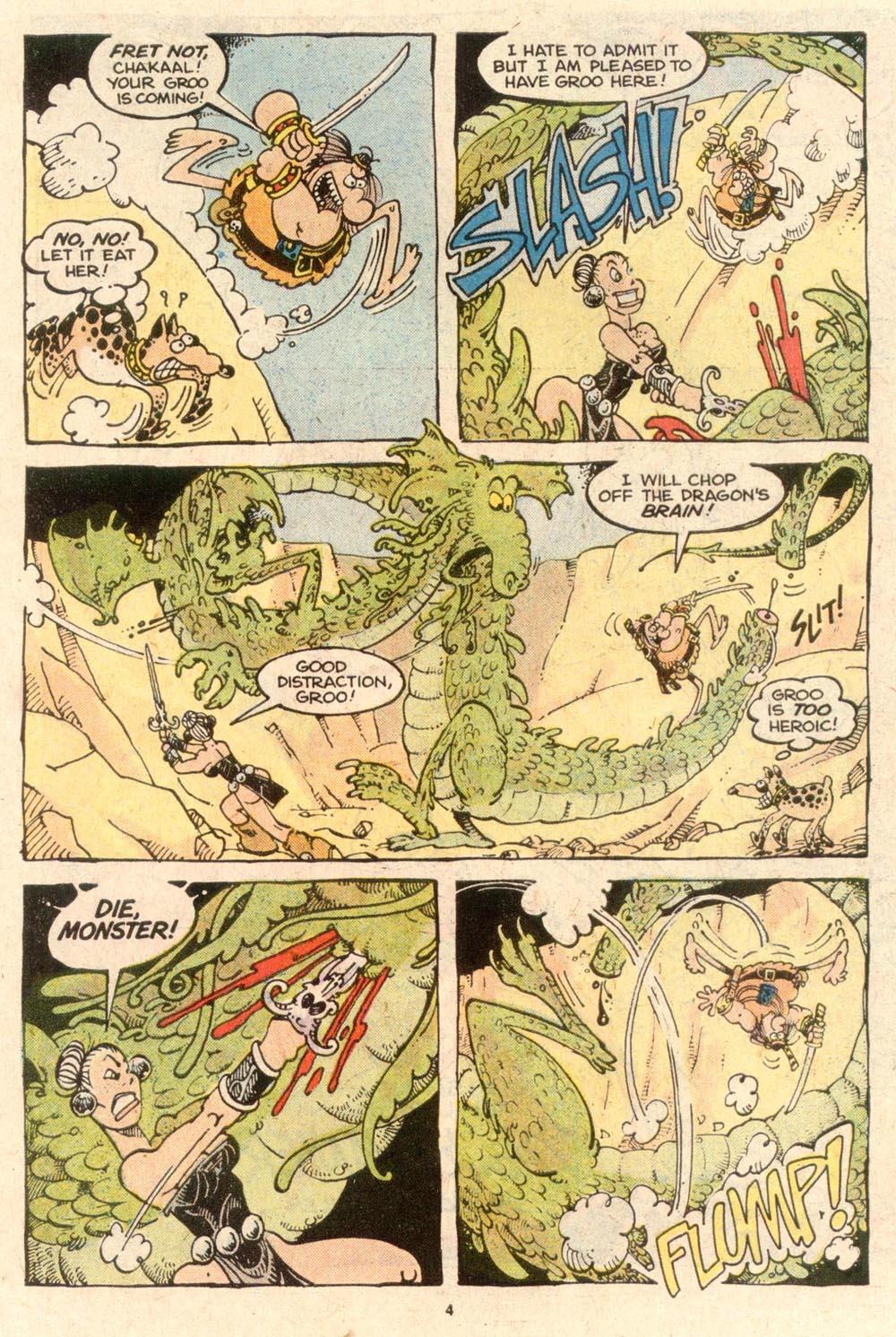 Read online Sergio Aragonés Groo the Wanderer comic -  Issue #53 - 4