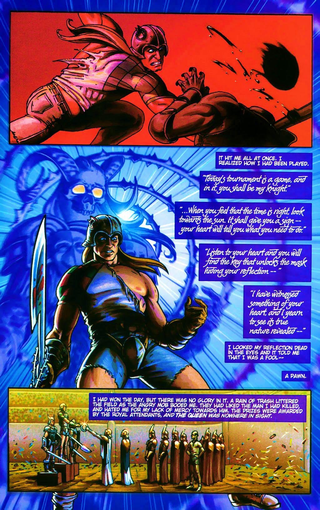 Read online Dawn: Three Tiers comic -  Issue #4 - 21