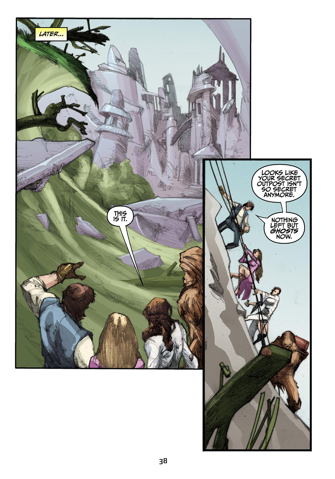 Read online Star Wars Omnibus comic -  Issue # Vol. 33 - 120