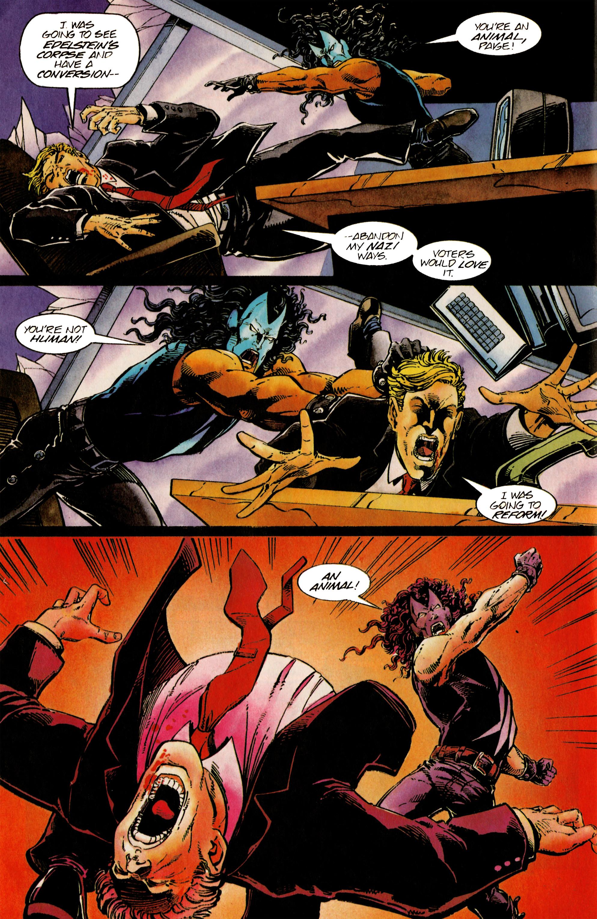 Read online Shadowman (1992) comic -  Issue #24 - 19