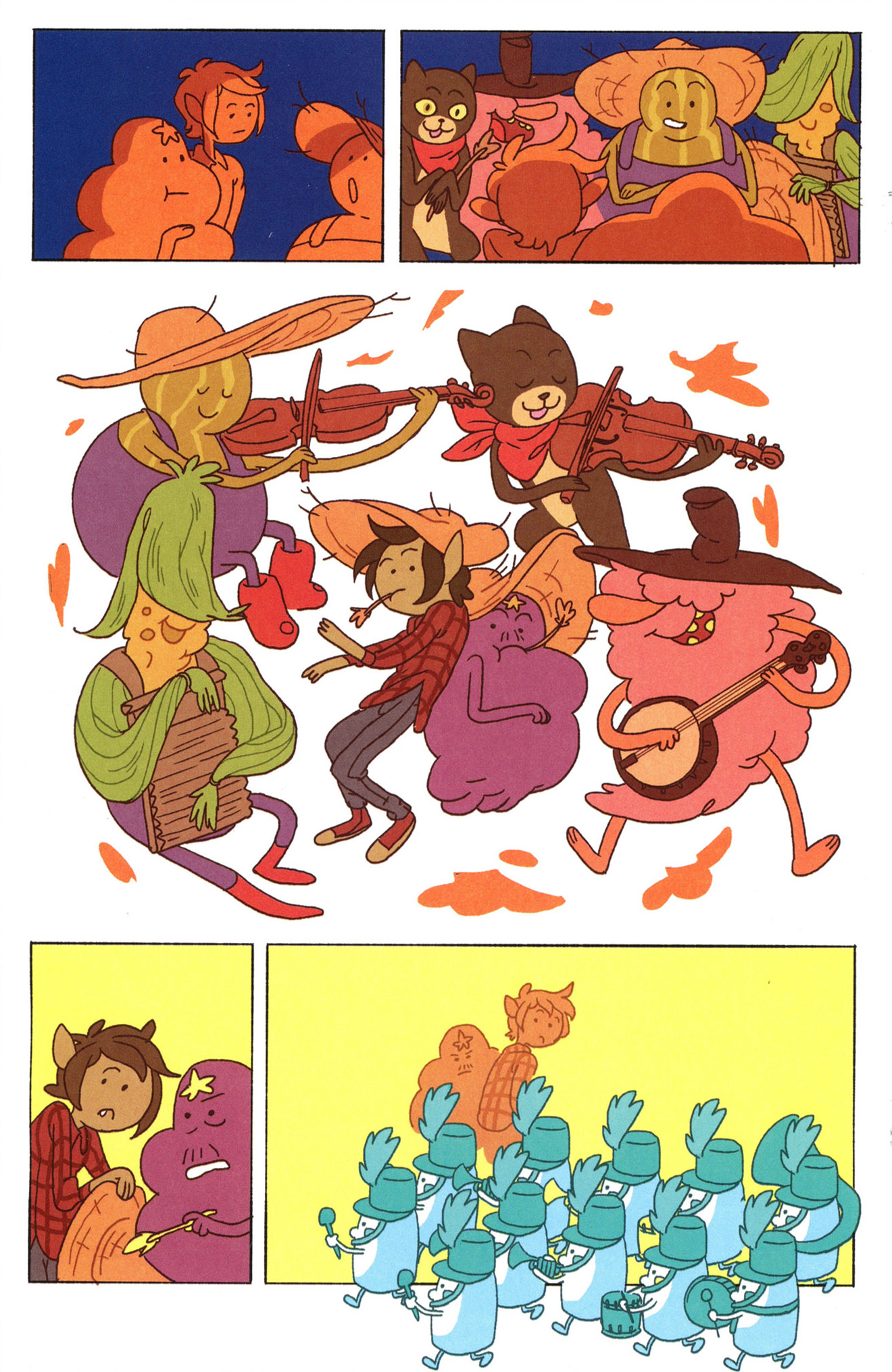 Read online Adventure Time Comics comic -  Issue #8 - 16