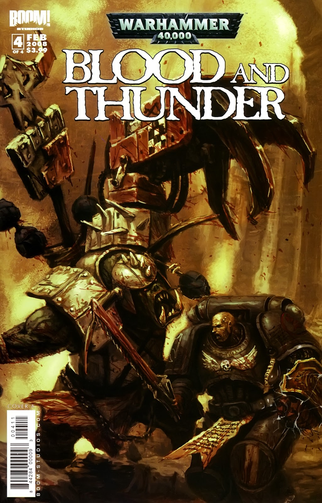 Warhammer 40,000: Blood and Thunder issue 4 - Page 1