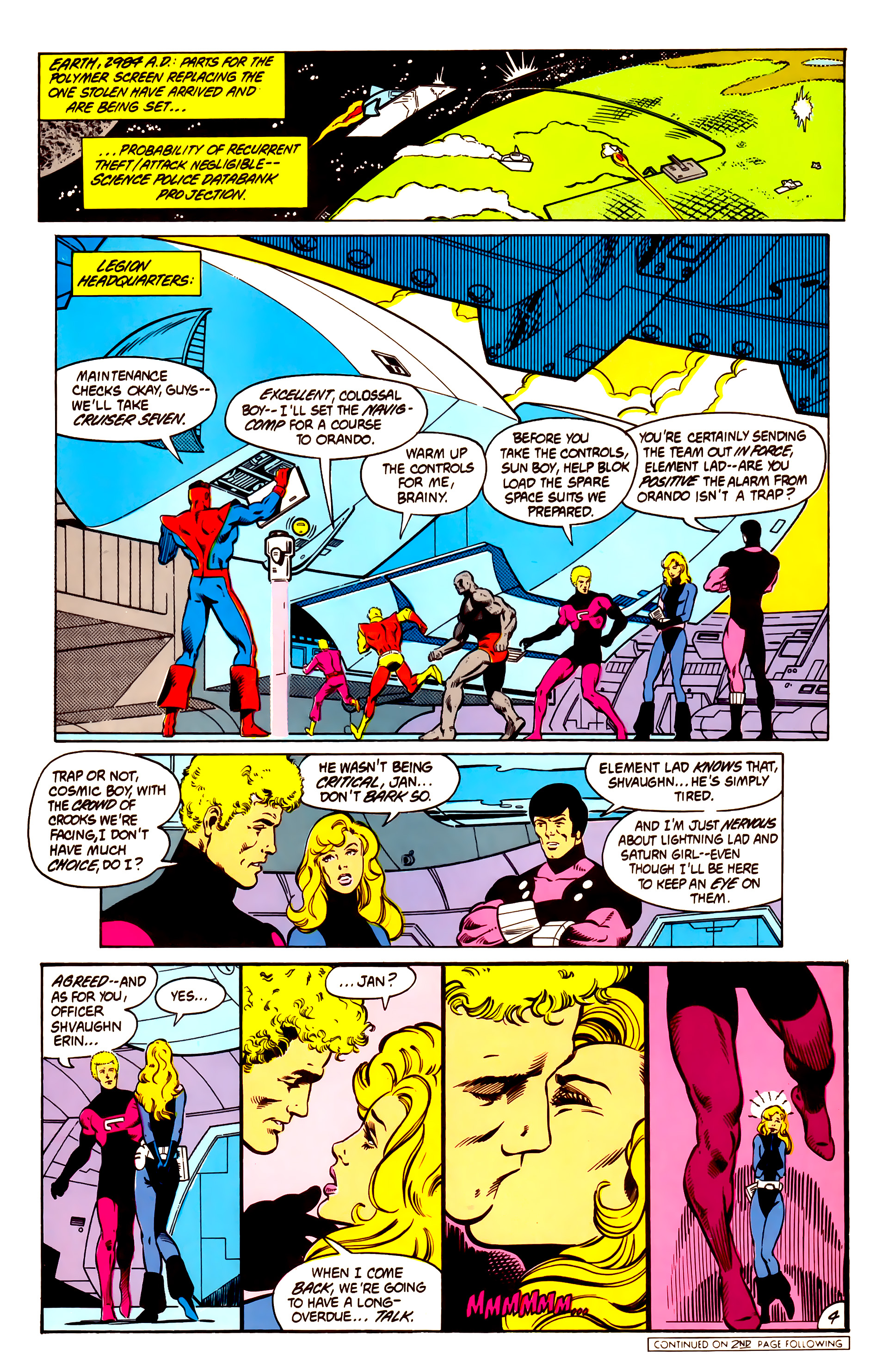 Legion of Super-Heroes (1984) 3 Page 5
