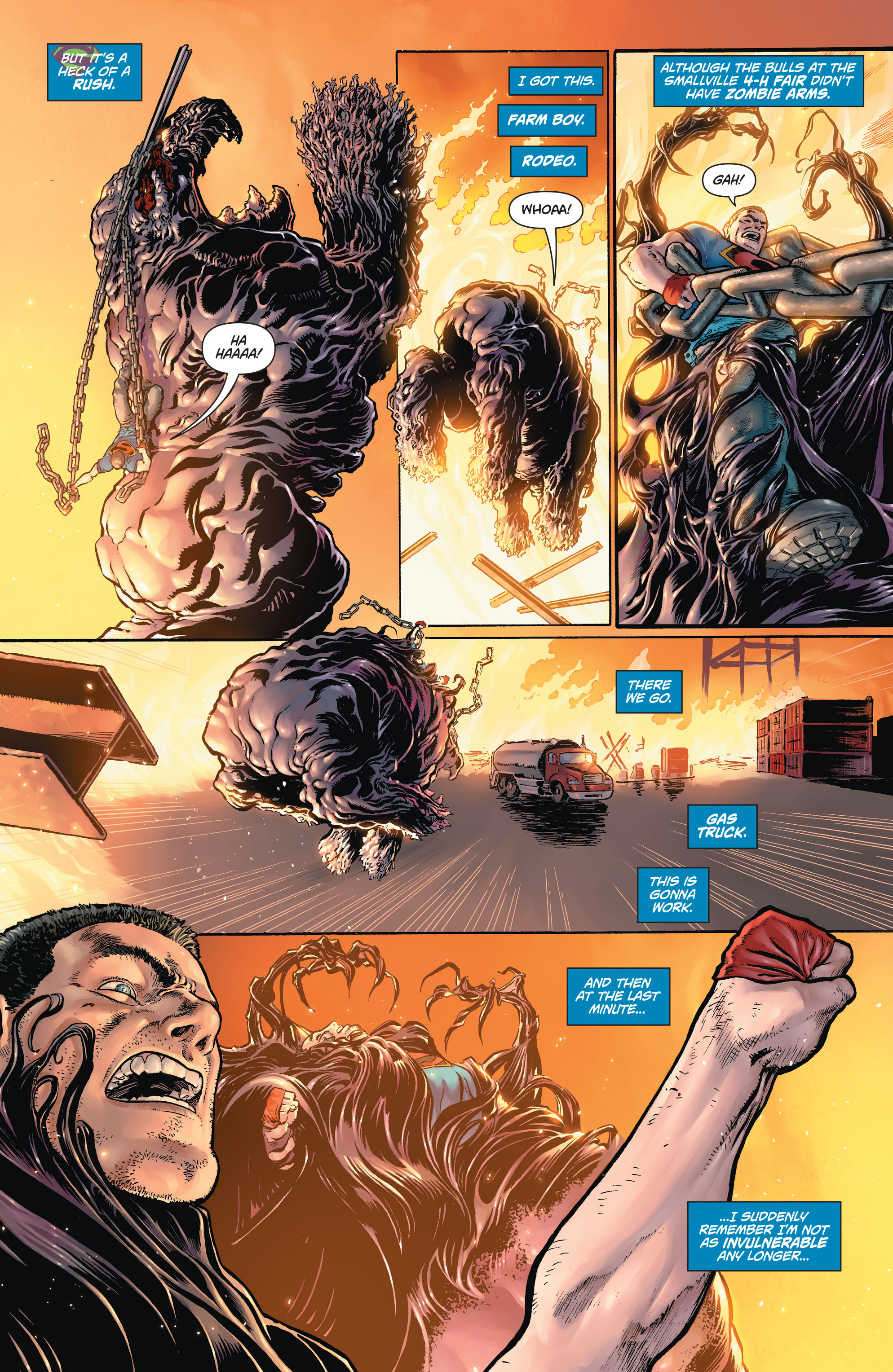 Read online Action Comics (2011) comic -  Issue #42 - 9