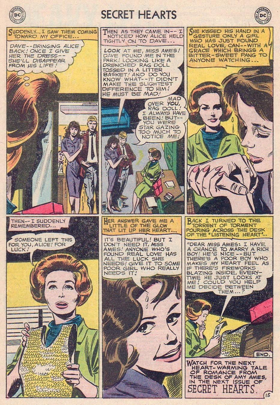 Read online Secret Hearts comic -  Issue #102 - 33