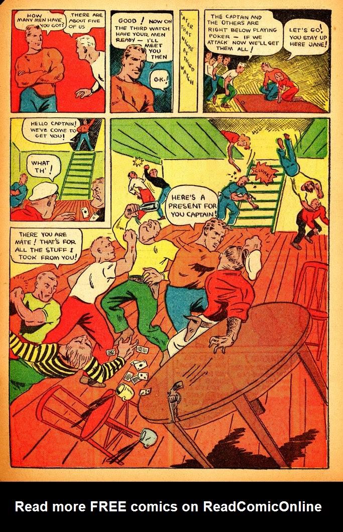 Read online Amazing Man Comics comic -  Issue #12 - 57