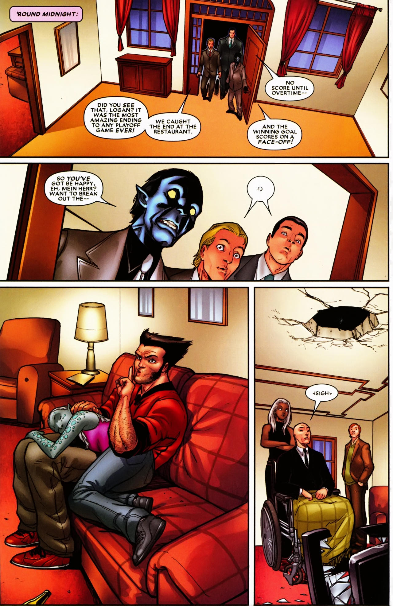 Read online Wolverine: First Class comic -  Issue #6 - 22