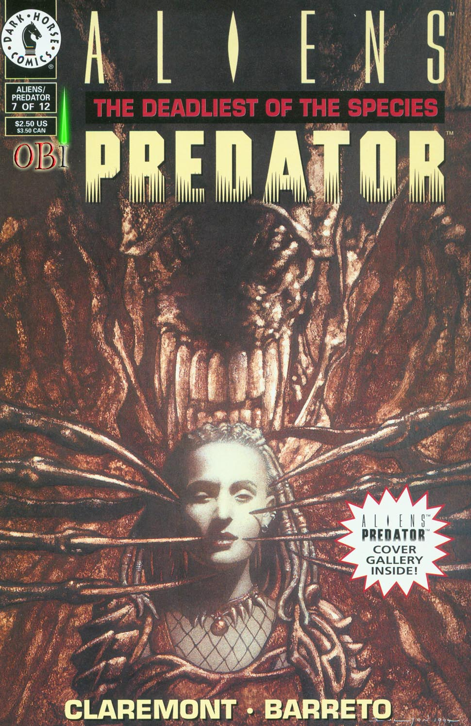 Read online Aliens/Predator: The Deadliest of the Species comic -  Issue #7 - 1