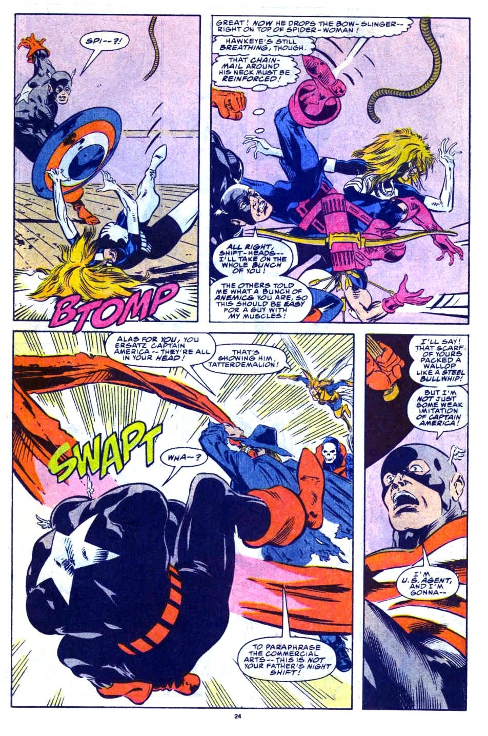 Avengers West Coast (1989) issue 76 - Page 19