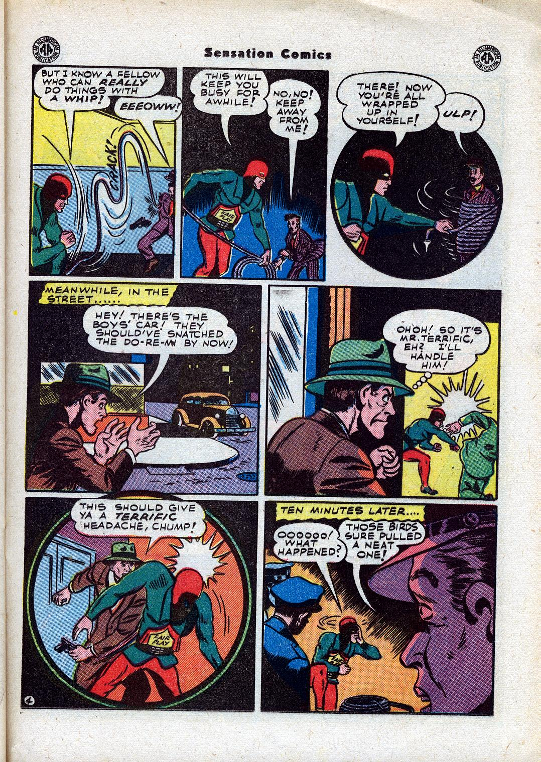 Read online Sensation (Mystery) Comics comic -  Issue #44 - 31