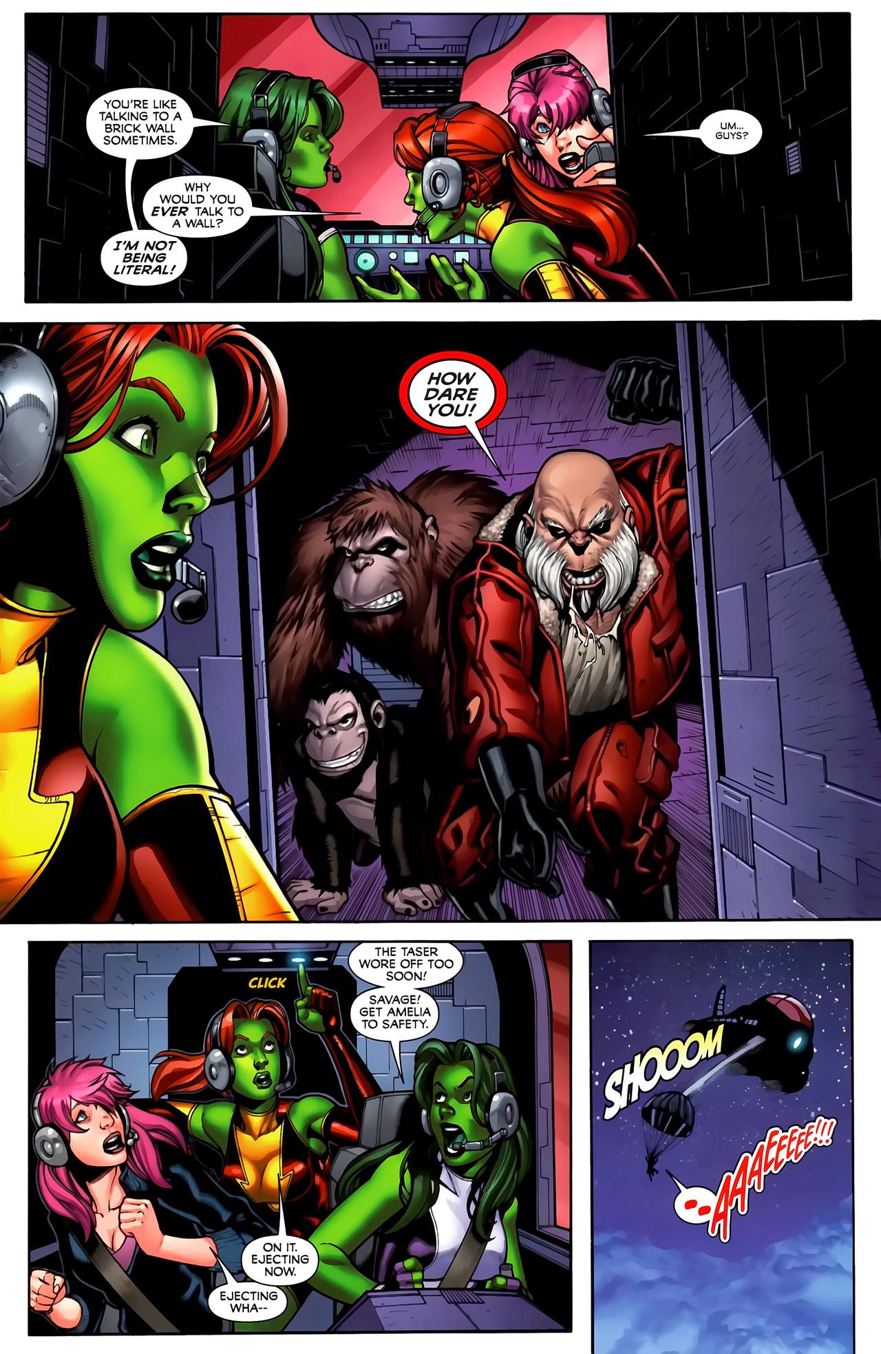 Read online She-Hulks comic -  Issue #3 - 4